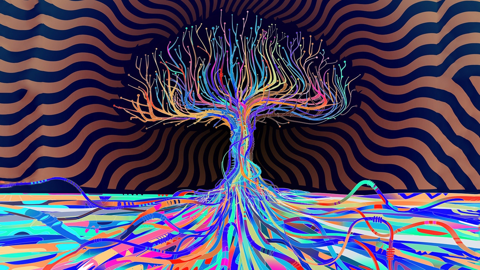 1920x1080 psychedelic hd wallpapers trees desktop wallpapers high definition monitor  download free amazing background photos artwork 1920×1080 Wallpaper HD