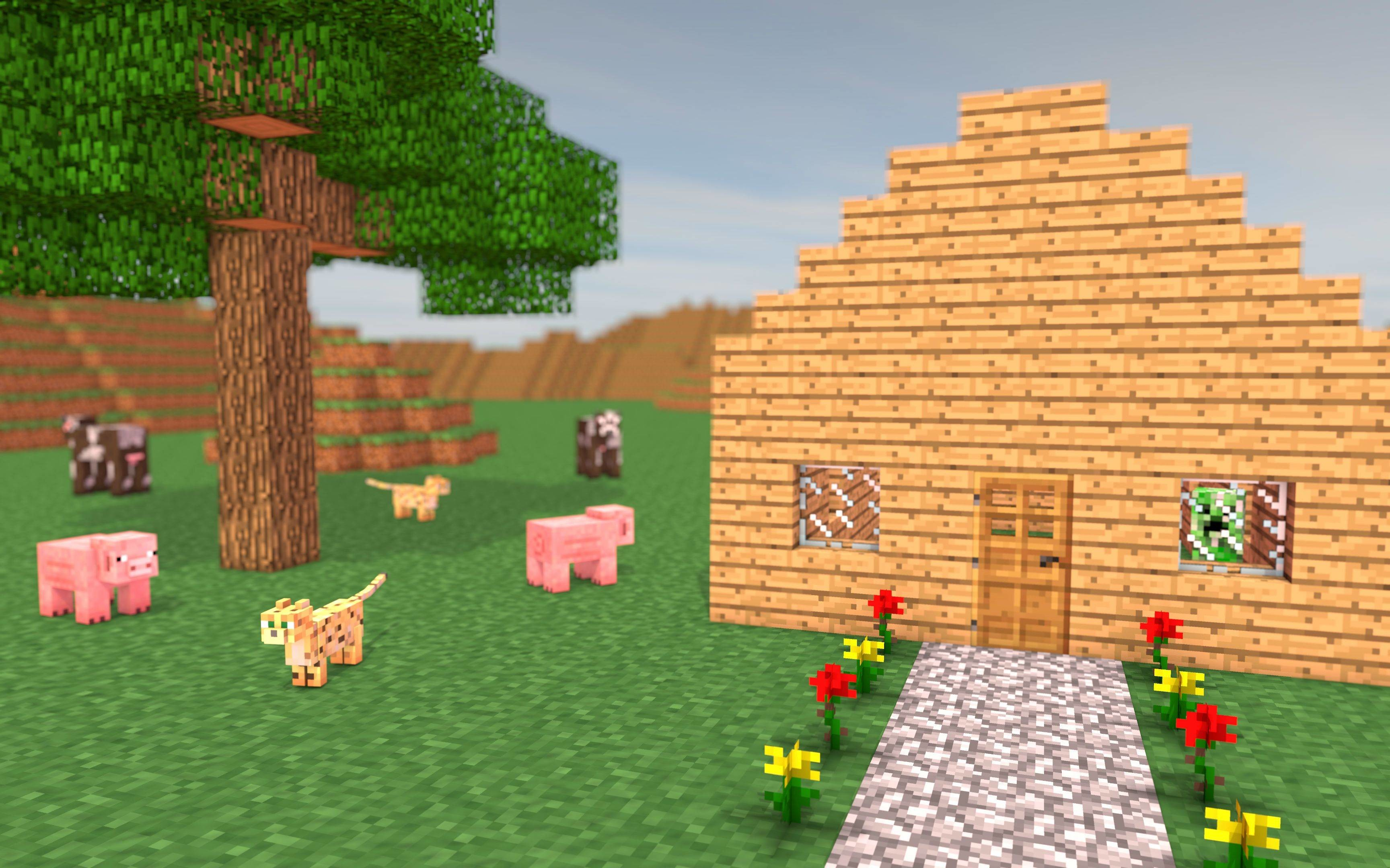 how to make a 3d minecraft game on scratch