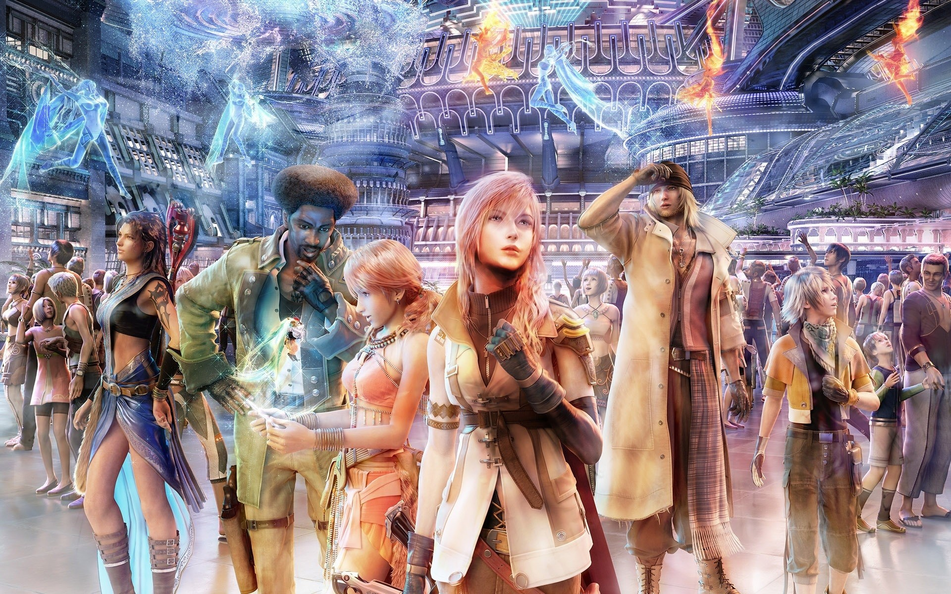 Final Fantasy X Official Wallpapers