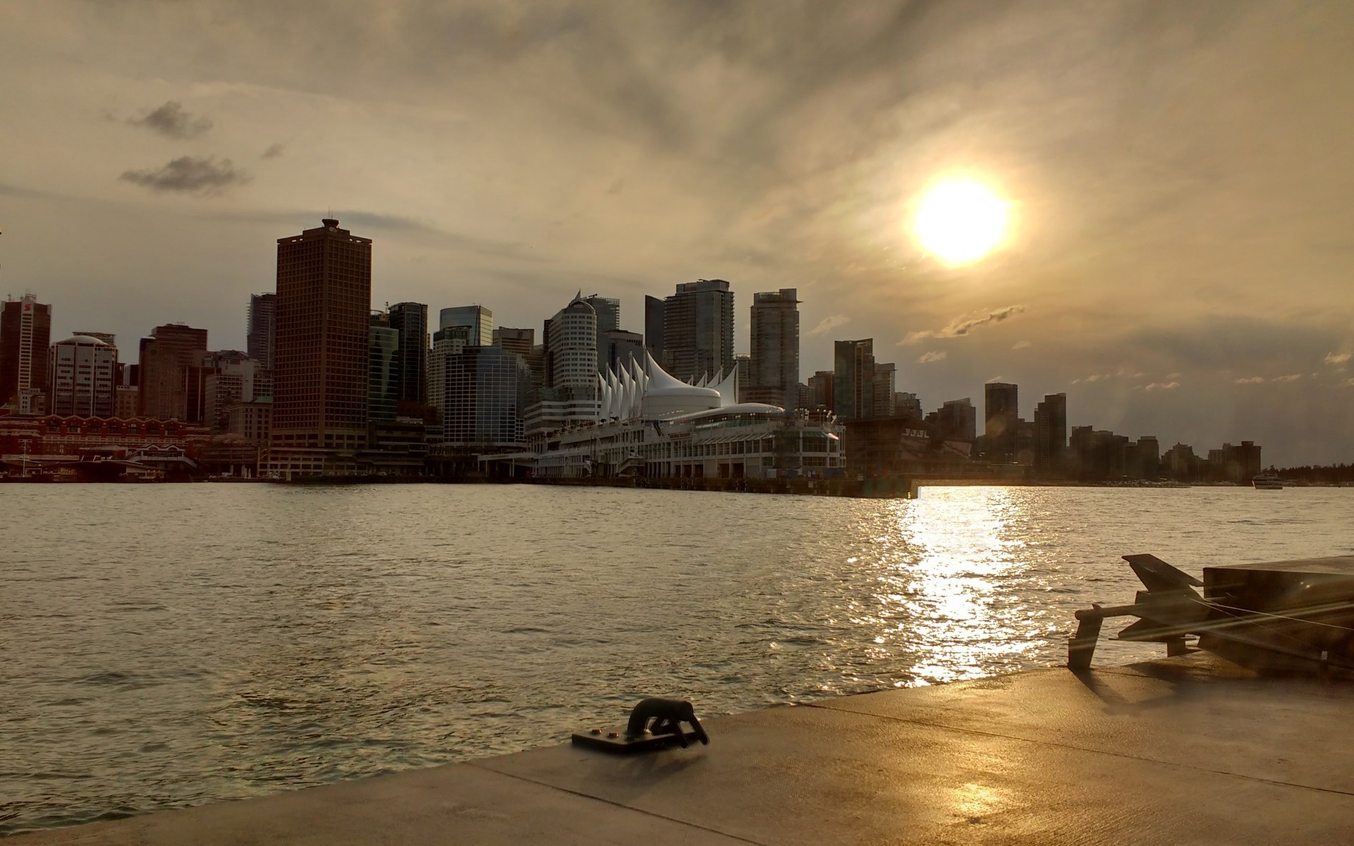 1920x1200 Download Vancouver skyline harbour, Vancouver skyline hd wallpaper wallpaper