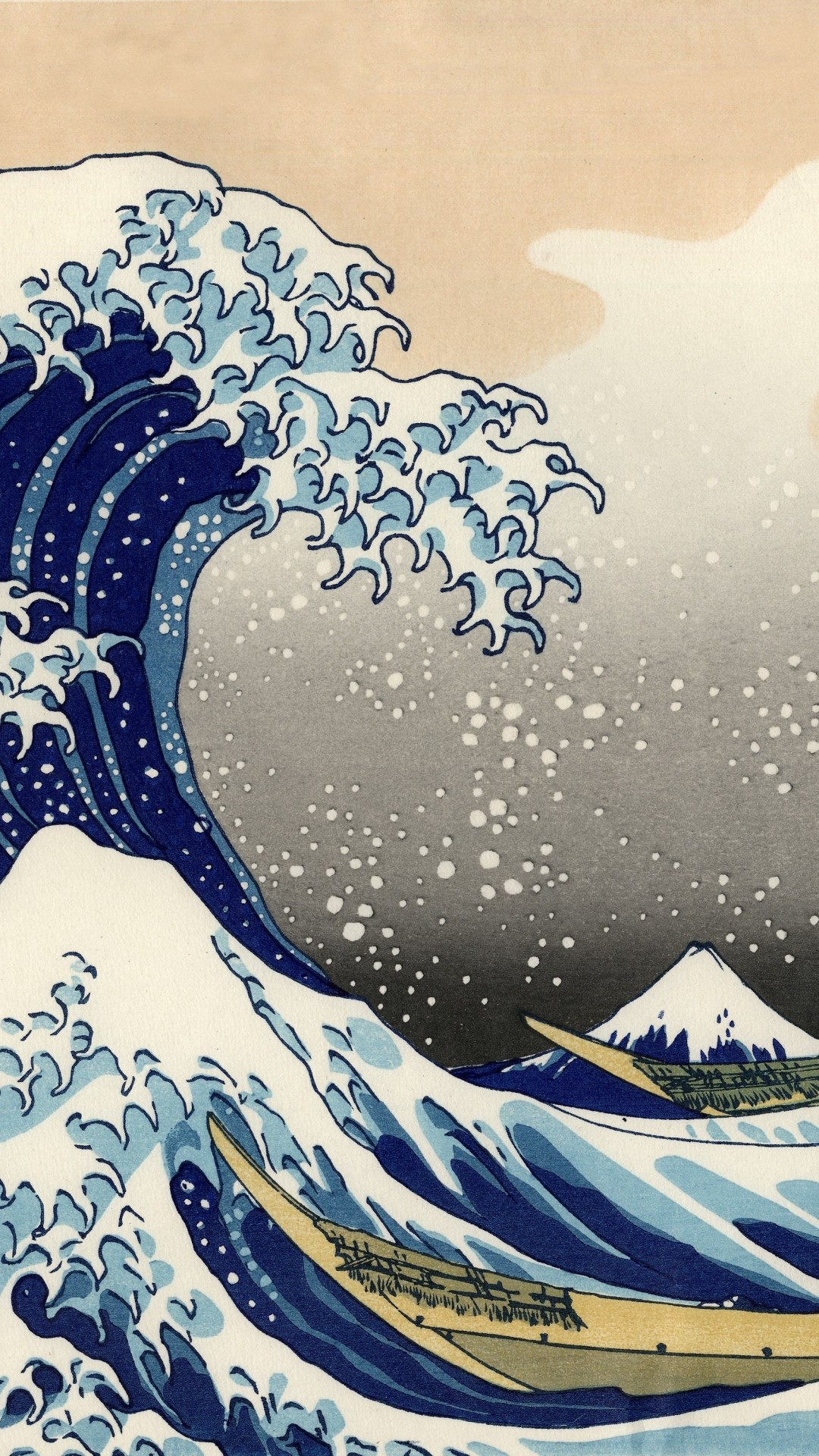 Great Wave Off Kanagawa Wallpaper 48 Images
