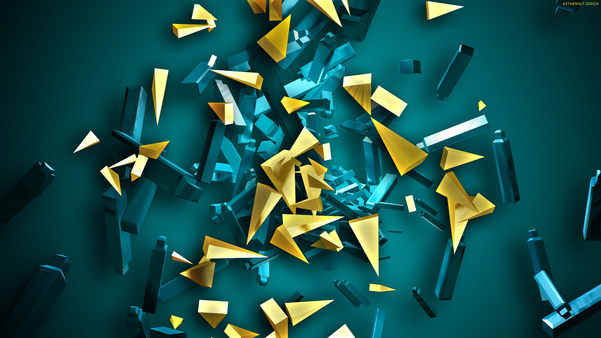 cool 3d abstract wallpapers (66+ images)