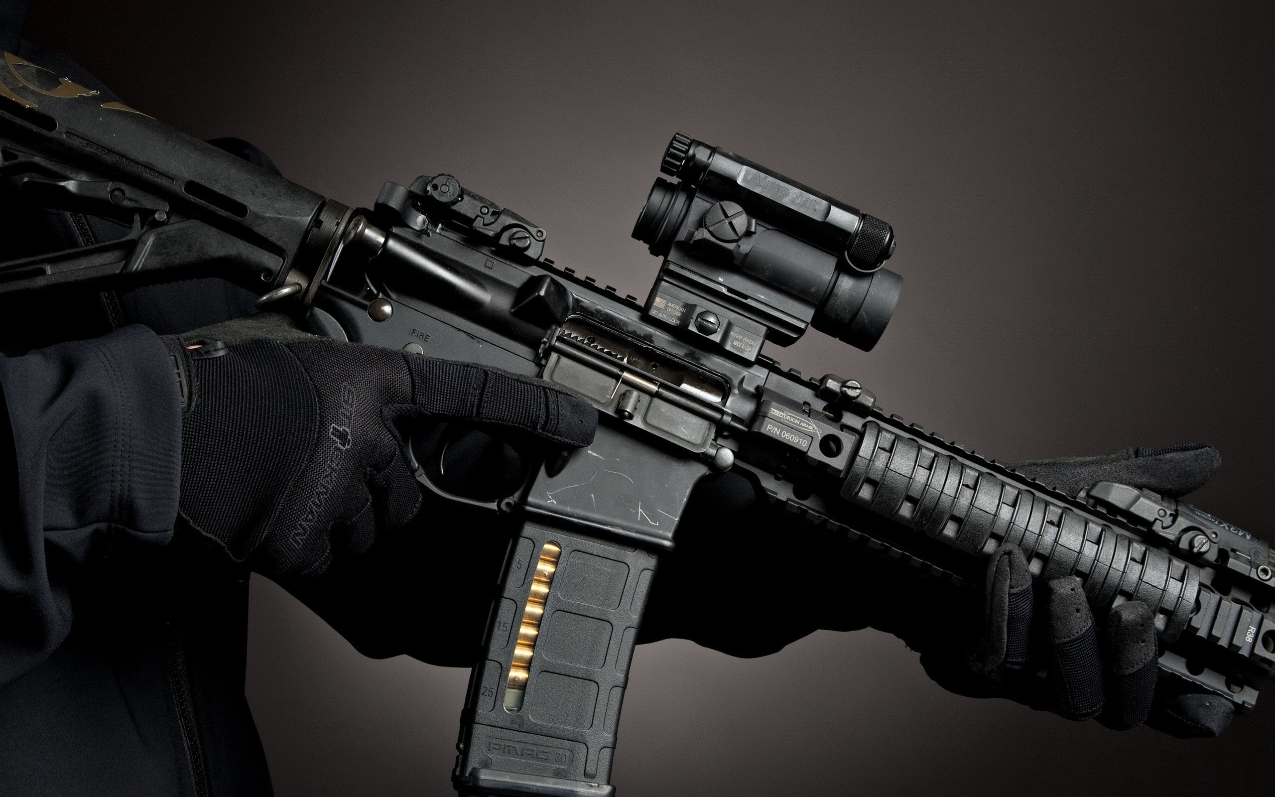 2560x1600 Magpul AR-15 Aimpoint comp m4  Wallpaper