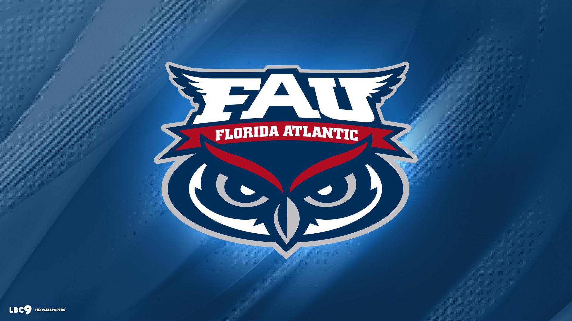 1920x1080 florida atlantic owls logo wallpaper