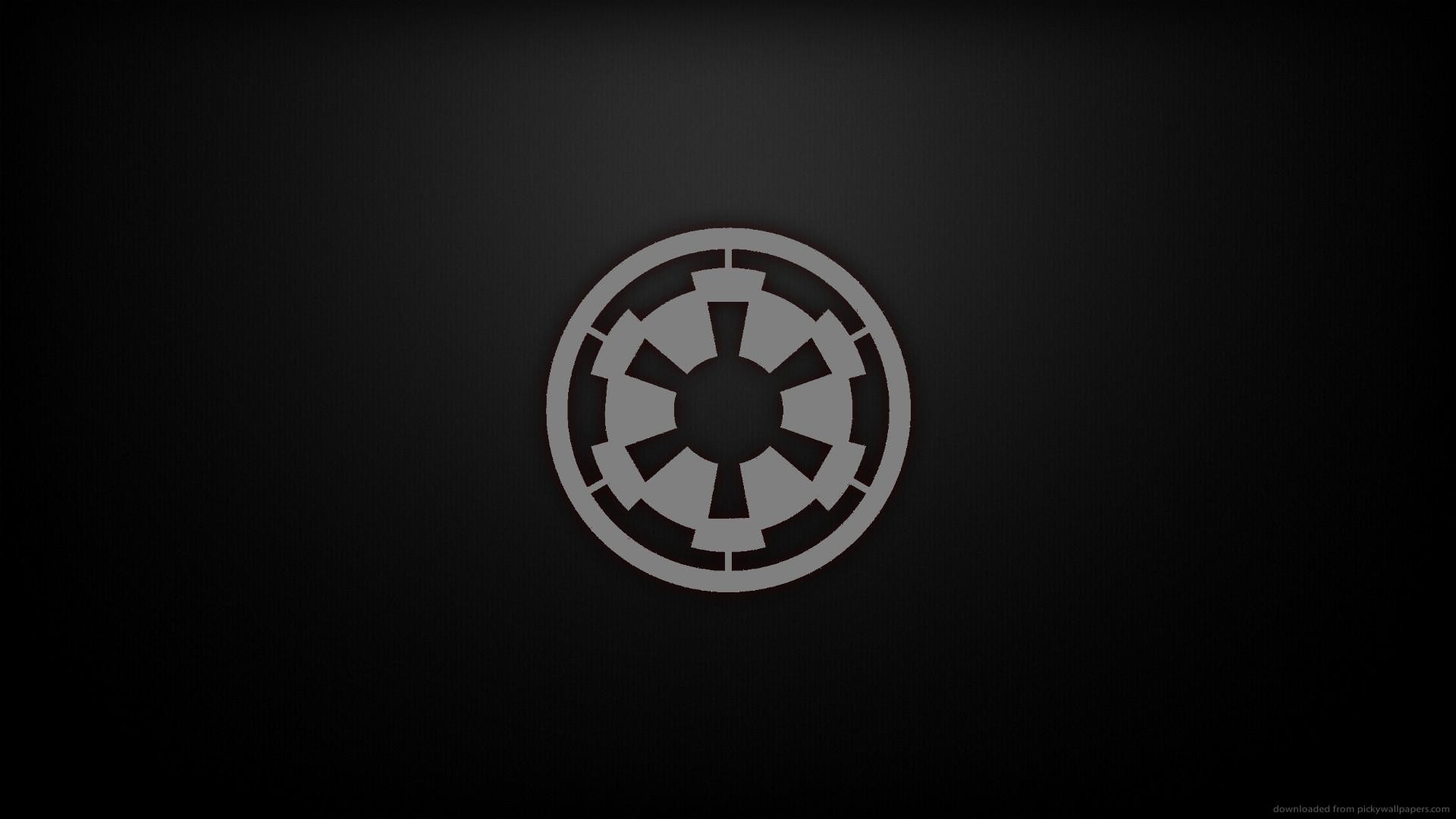 1920x1080 ... star wars imperial symbol wallpaper by hd wallpapers daily ...