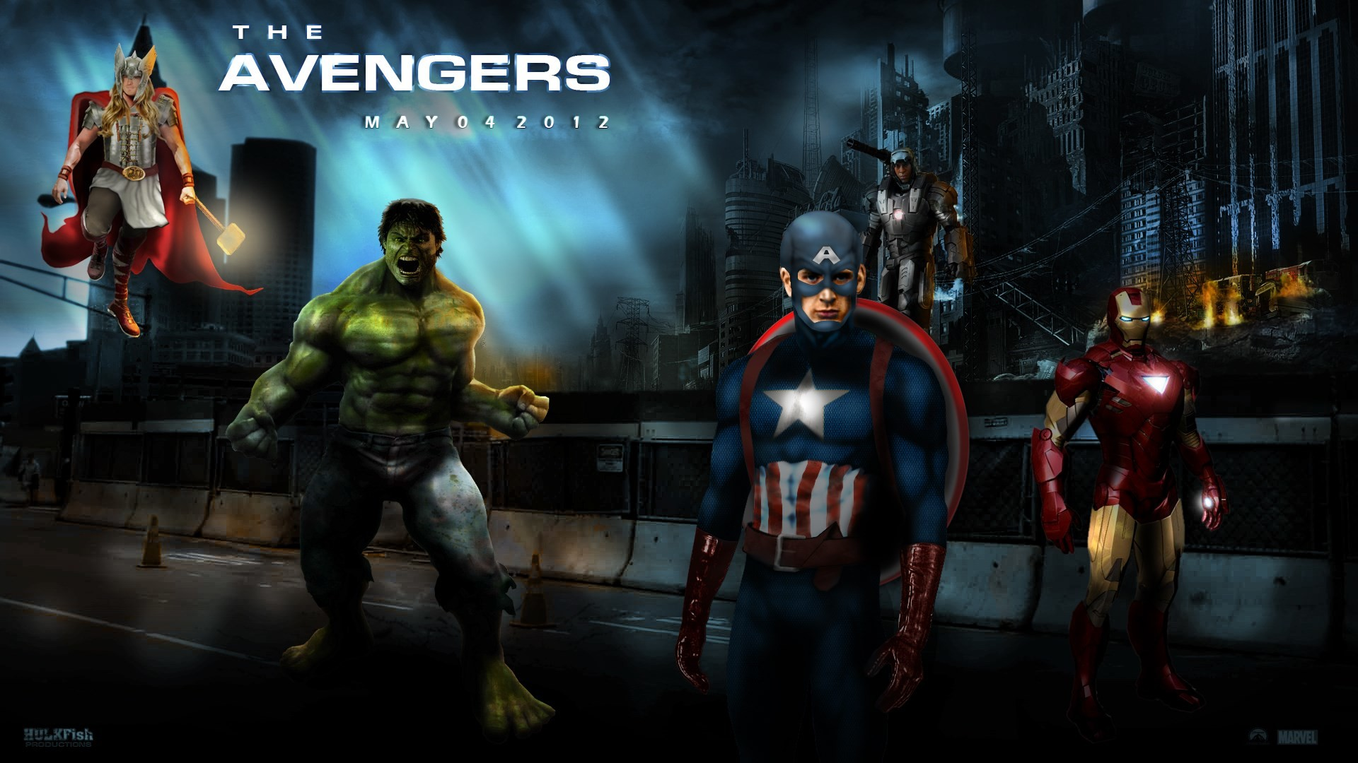 1920x1080 avengers wallpapers free