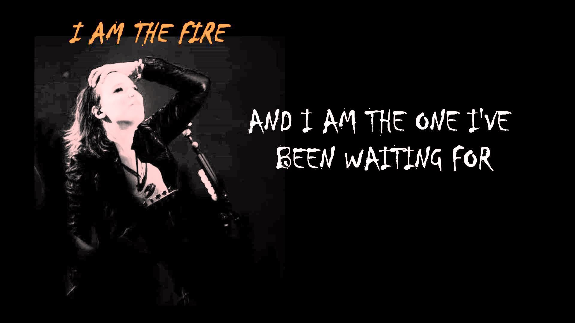 1920x1080 Halestorm - I Am The Fire (Official Lyrics)