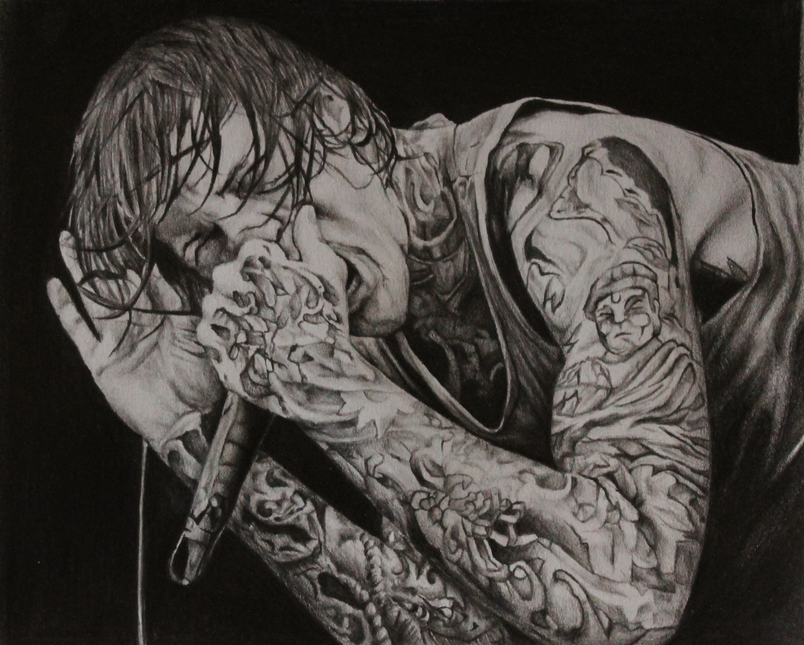 2690x2157 RIP by AitorLicantropo Mitch Lucker of Suicide Silence. RIP by  AitorLicantropo