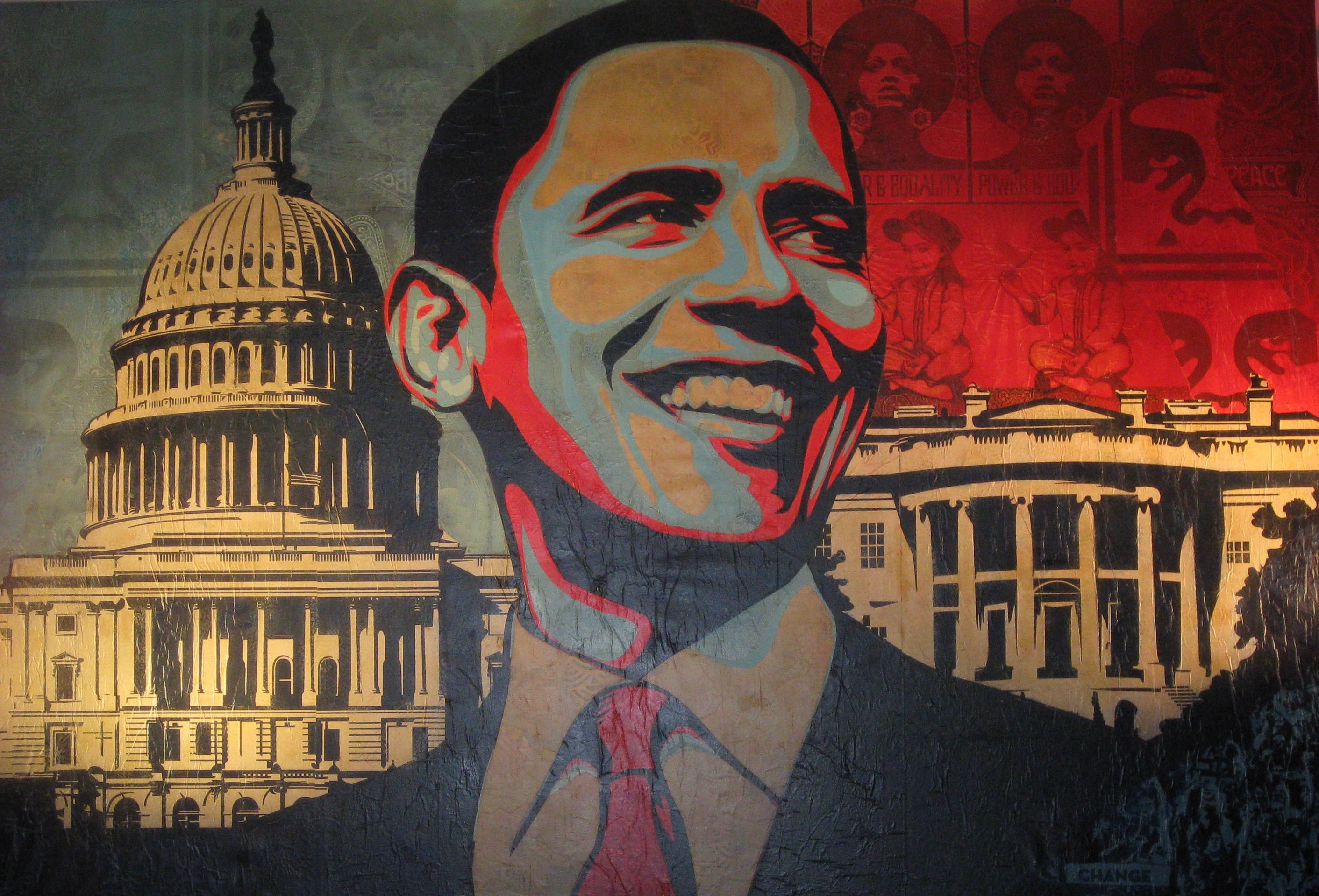 2823x1919 hope, presidents, Washington DC, Barack Obama, Shepard Fairey - Free  Wallpaper / WallpaperJam.com