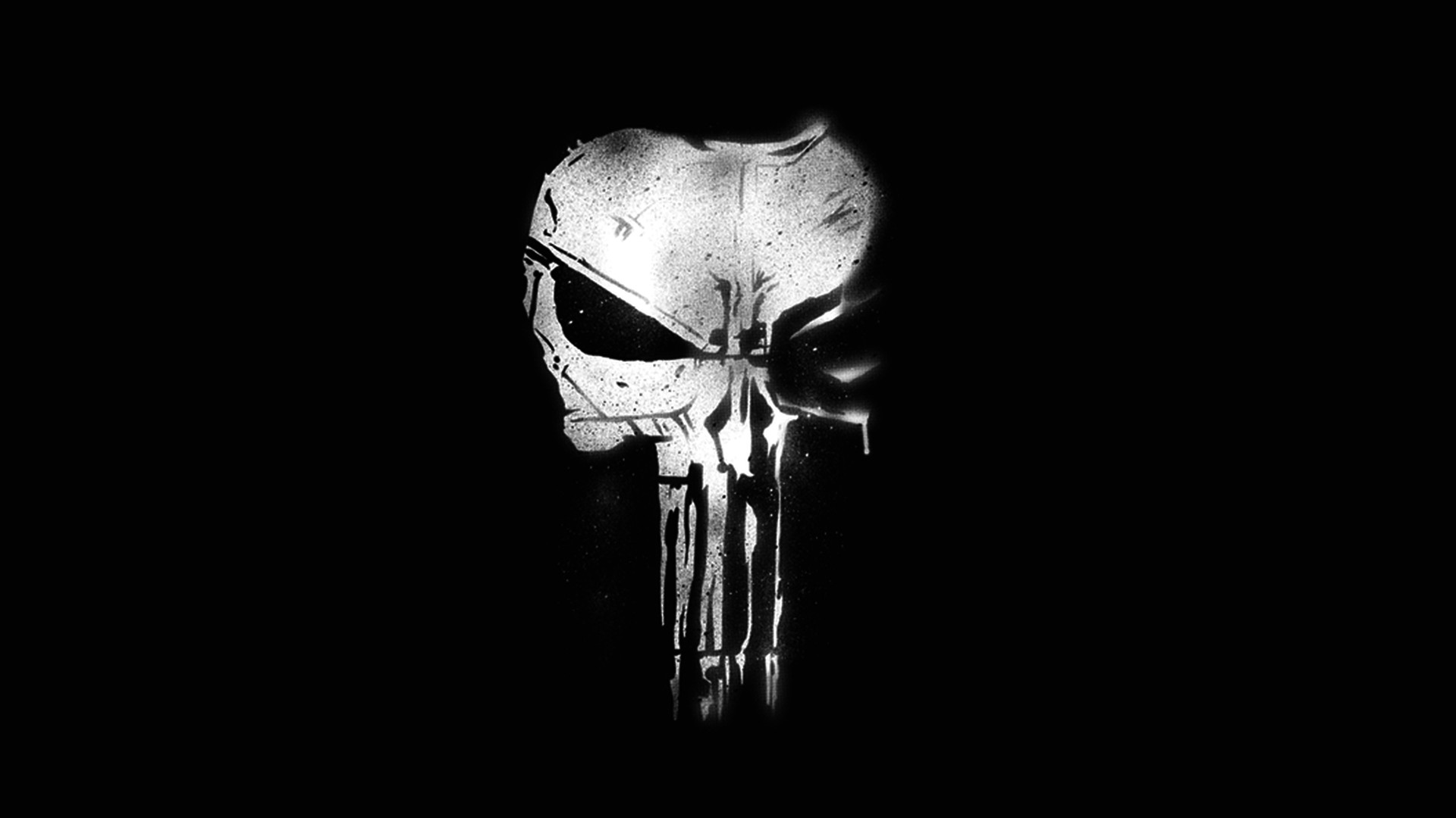 1920x1080 Fernsehserien - The Punisher Skelett Marvel Comics Punisher Wallpaper