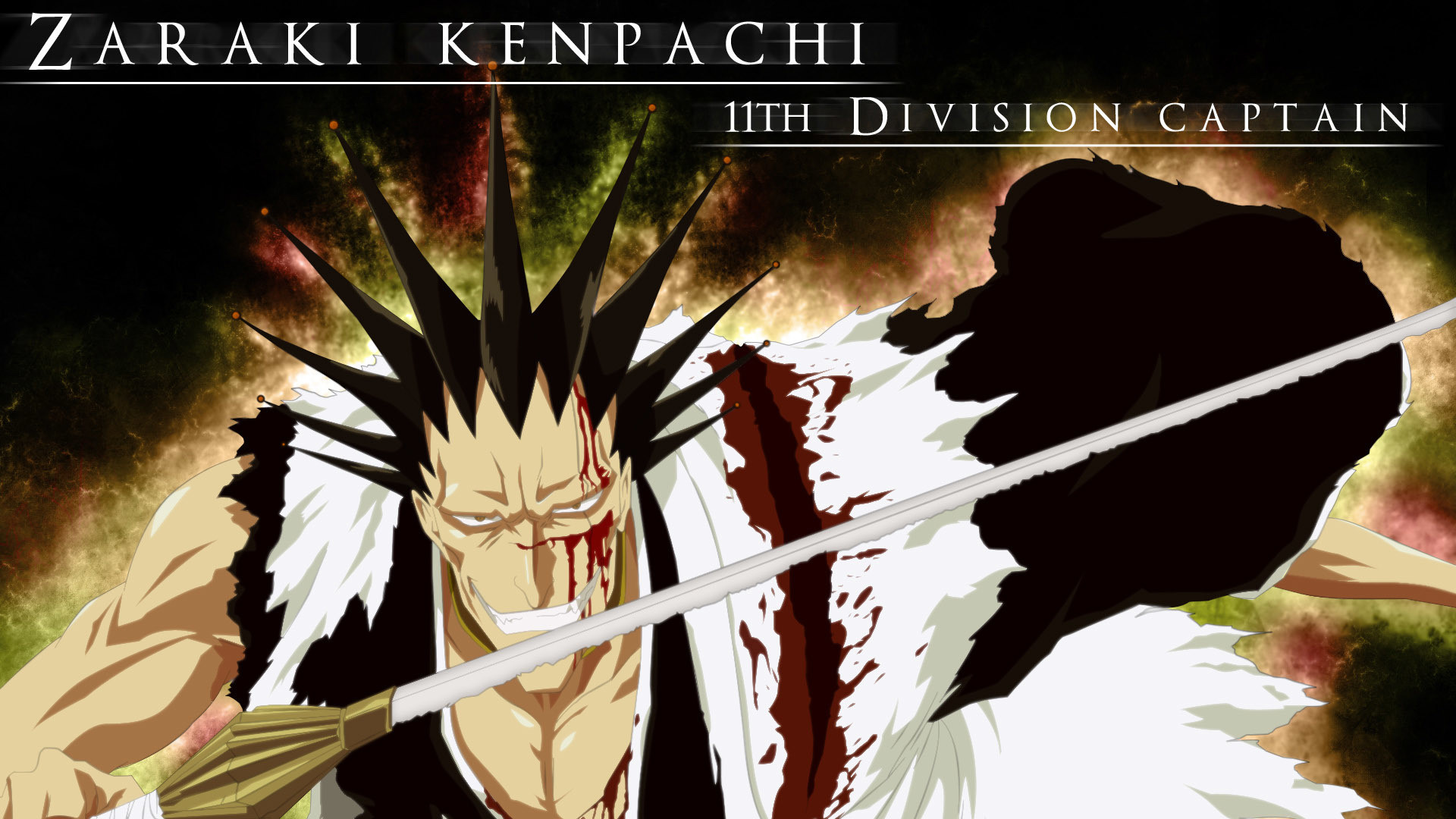 1920x1080 Zaraki Kenpachi - Bleach HD Wallpaper