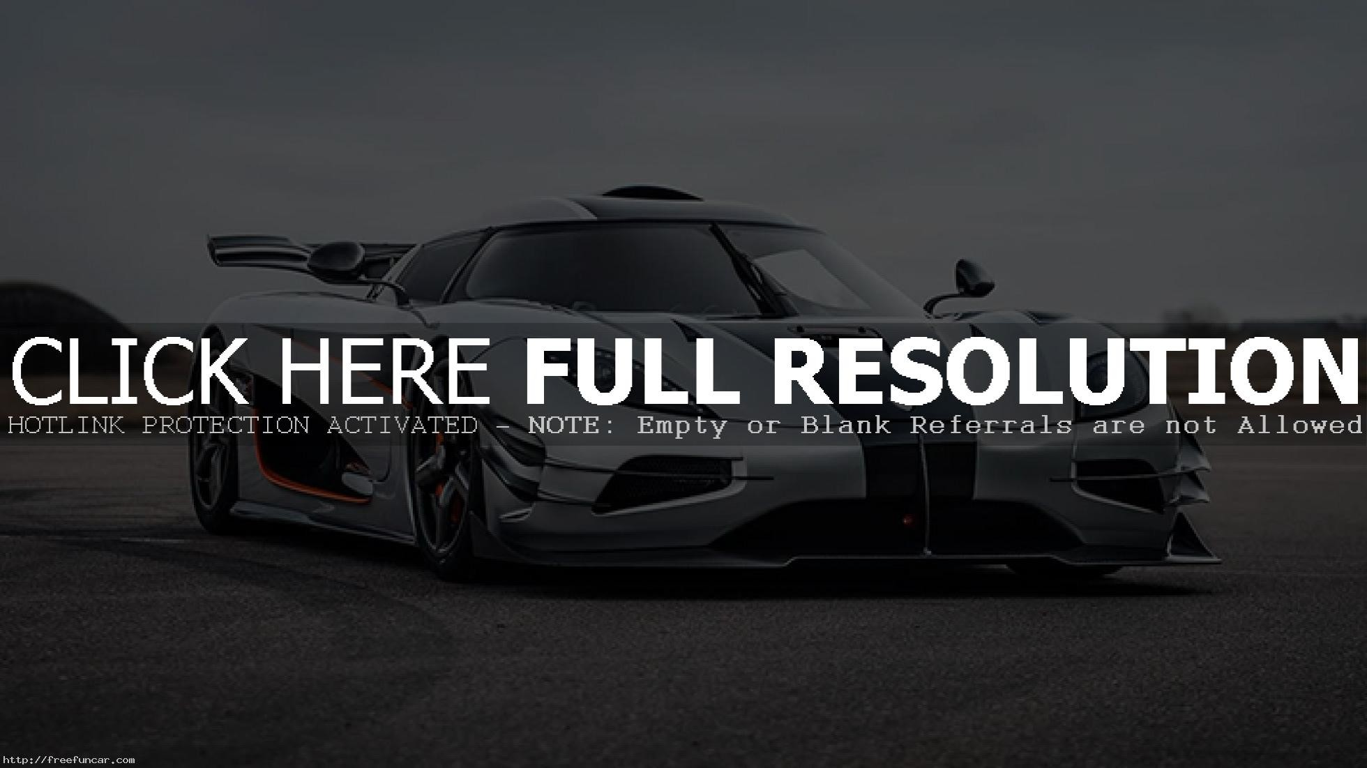 1960x1101 KOENIGSEGG ONE 1 SPORT CARS WALLPAPER