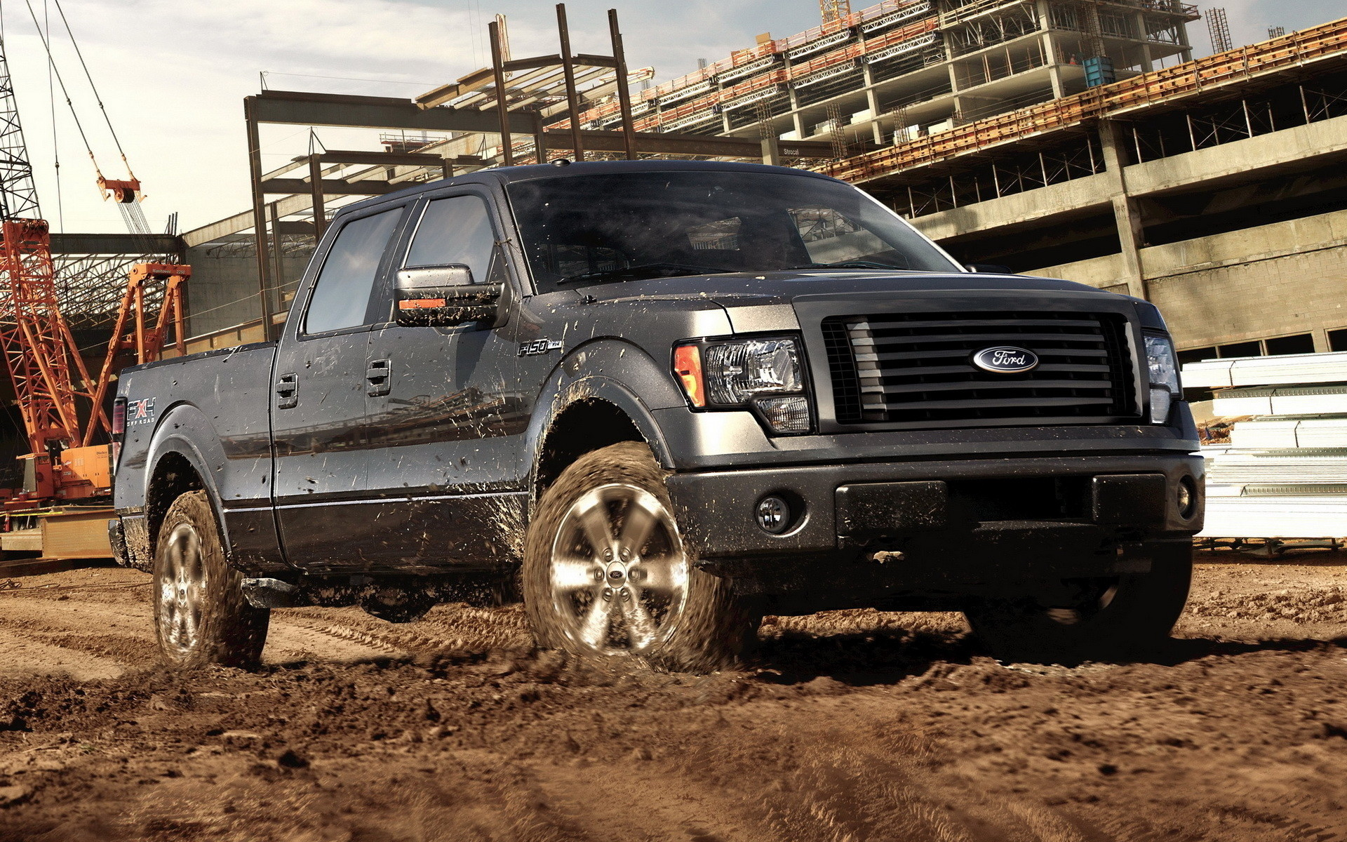 1920x1200 Ford F-150 Widescreen Wallpaper
