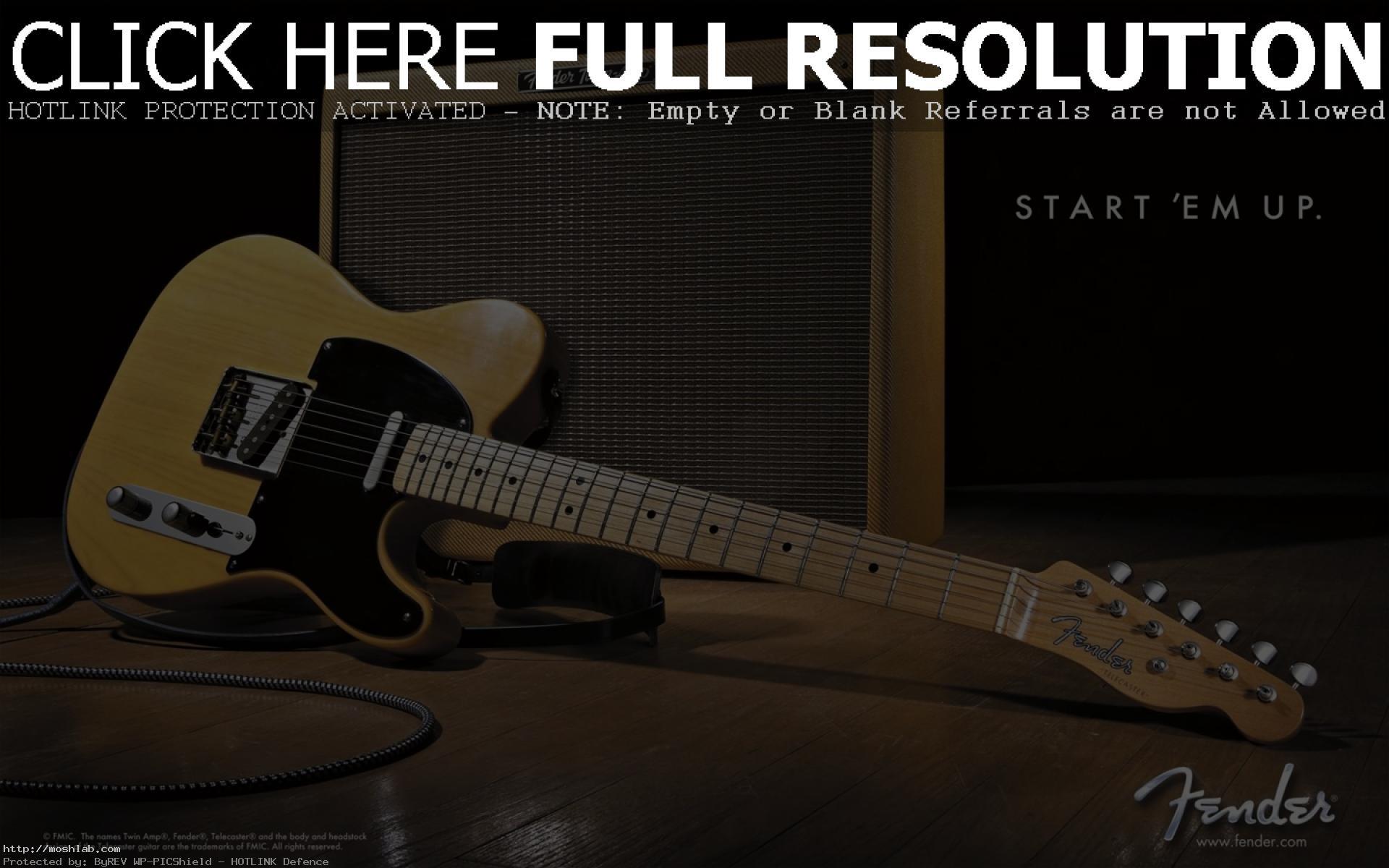 1920x1200 Fender Guitar