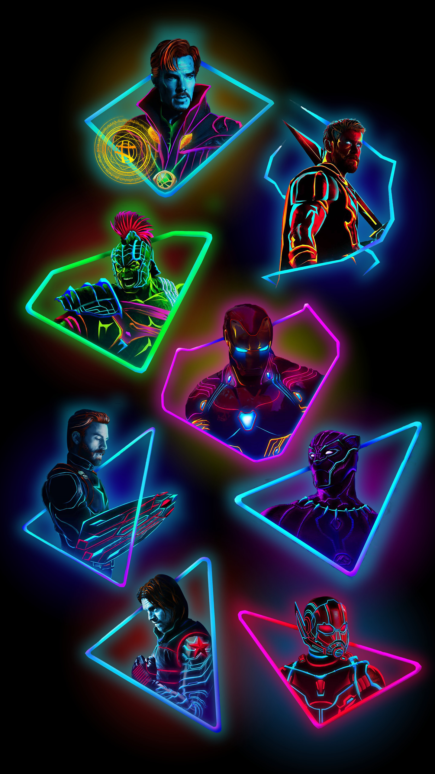 Black Neon Wallpaper (72+ images)