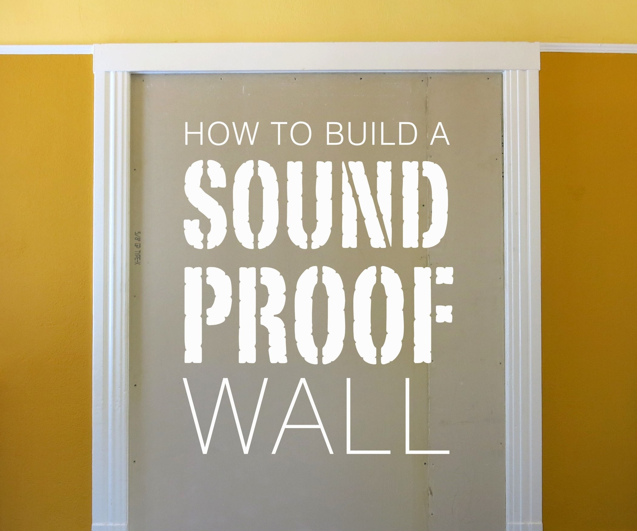 2100x1750 Build a Soundproof Wall