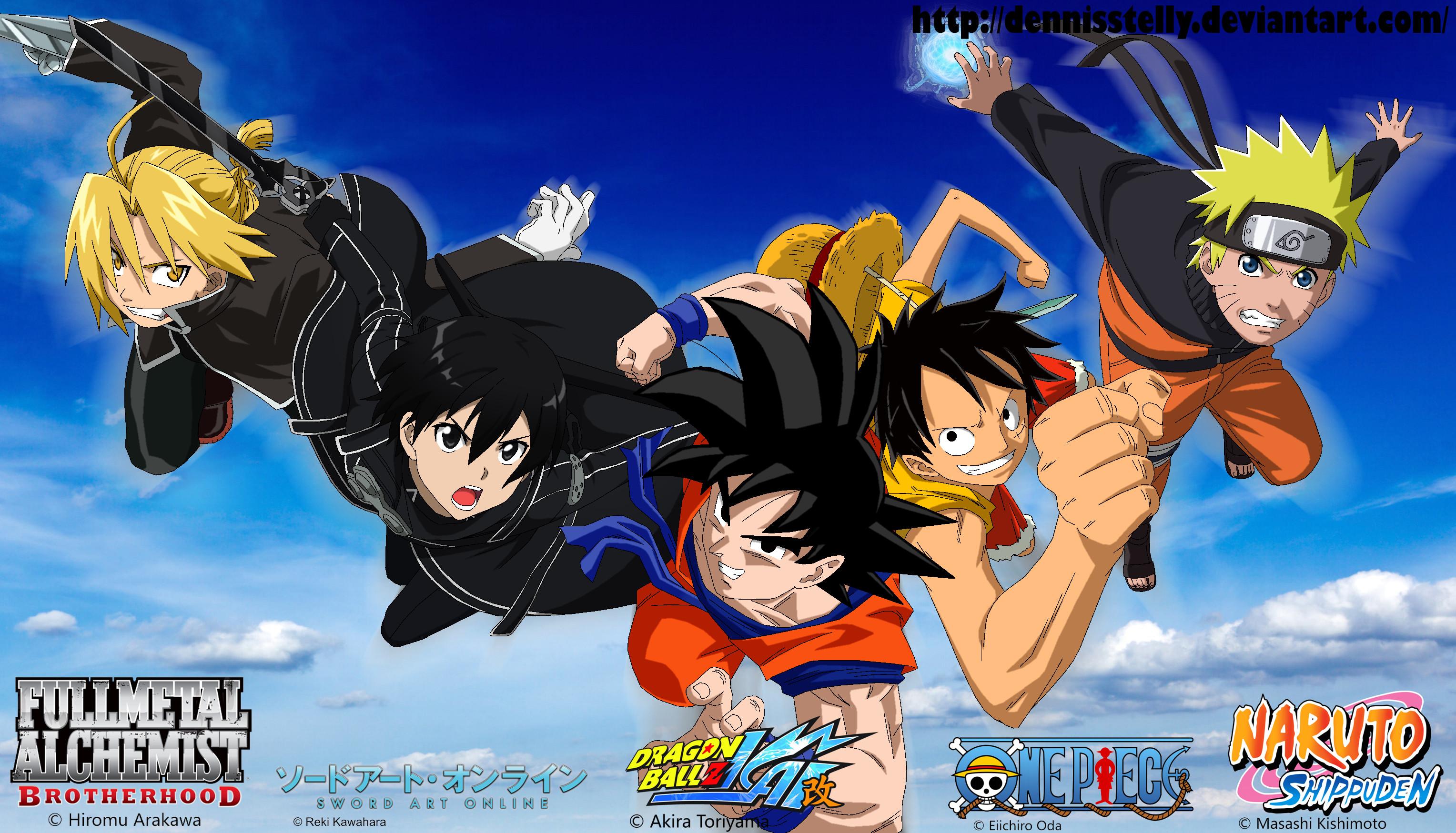 Naruto and Goku Wallpaper (74+ images)