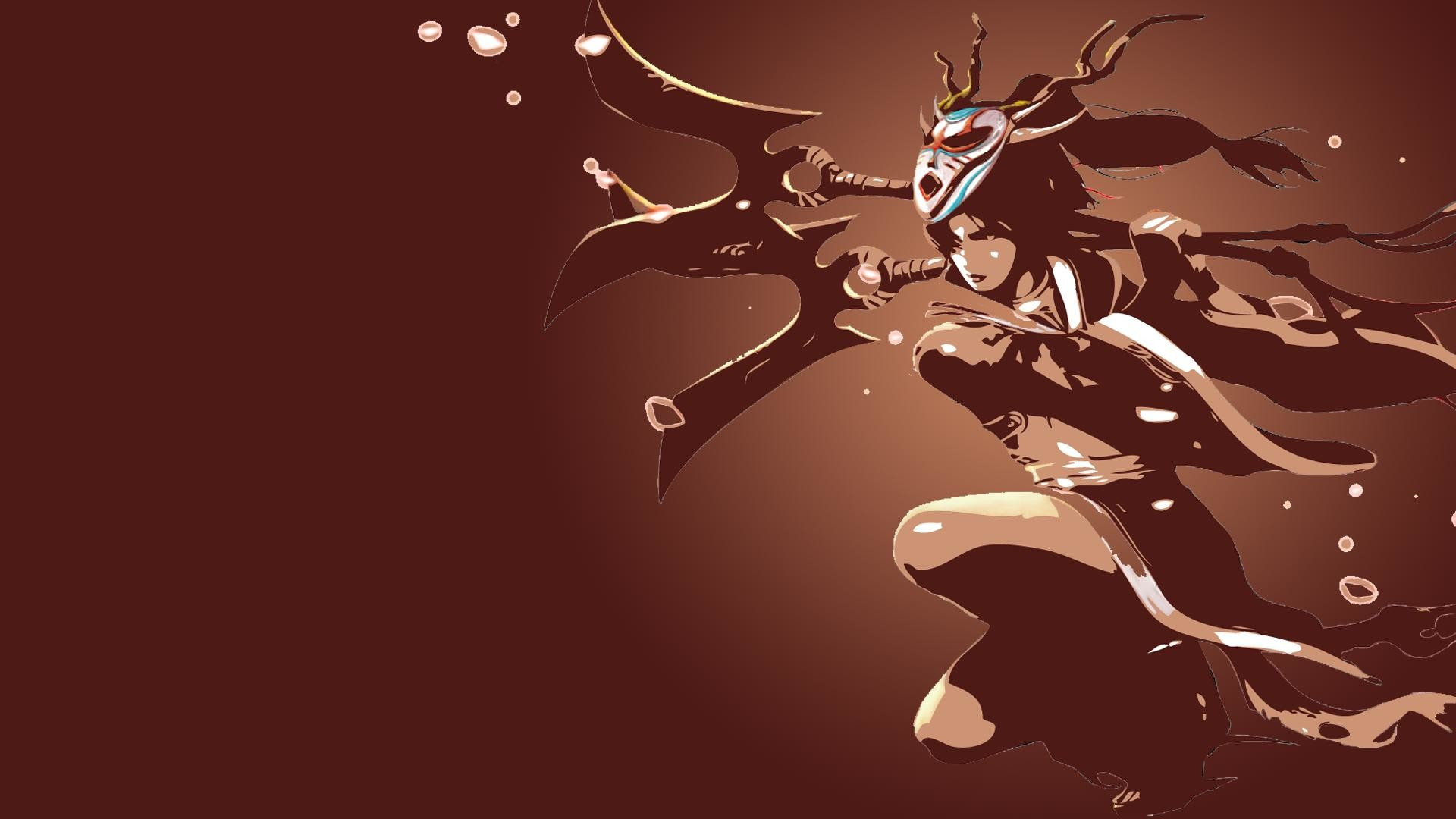 1920x1080 Blood Moon Akali Wallpaper