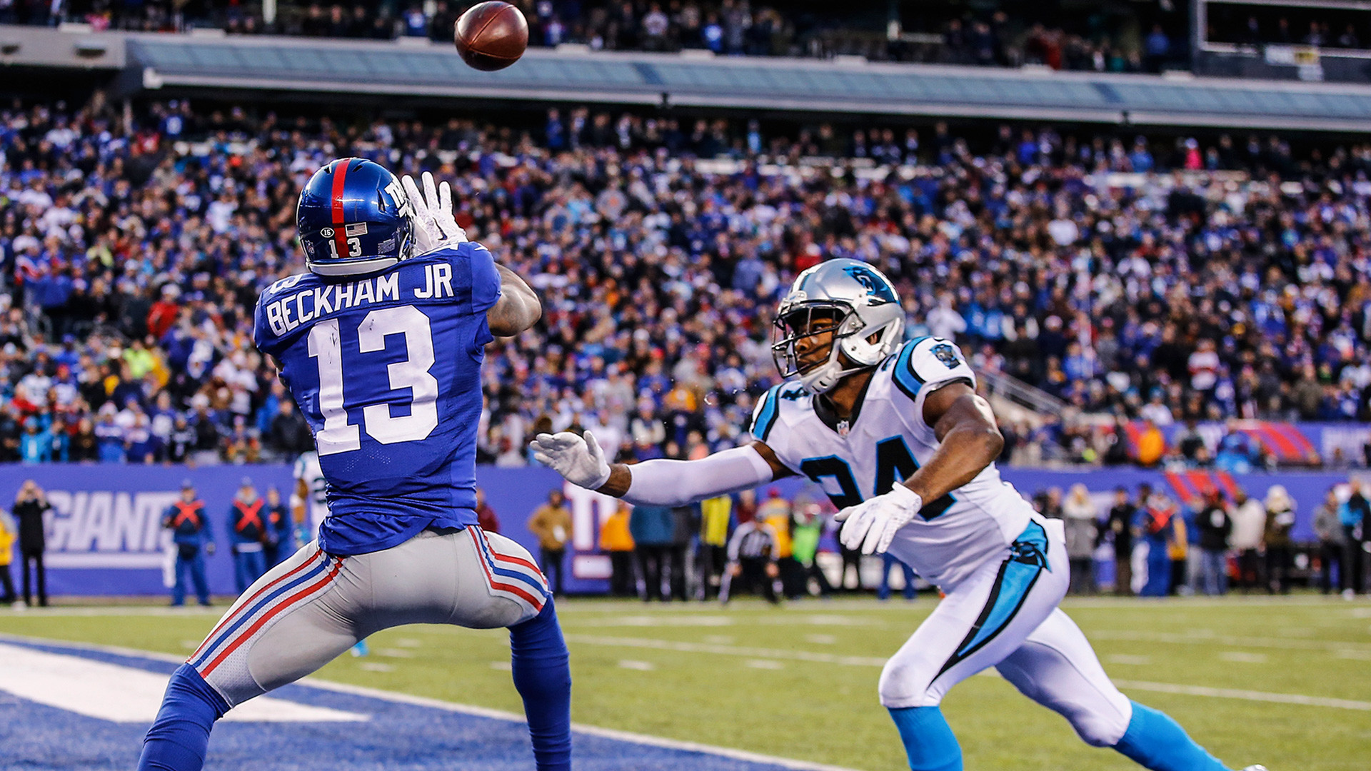 1920x1080 NFL pundits blast Odell Beckham Jr. for losing control in Giants loss | NFL  | Sporting News