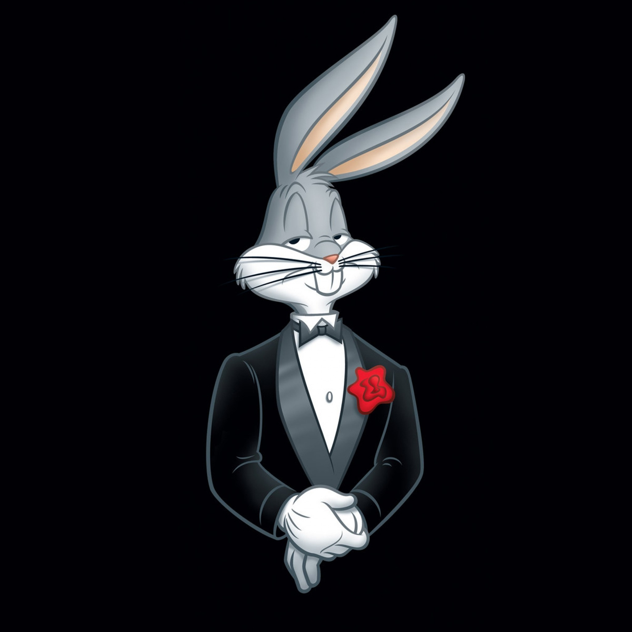 2048x2048 Looney tunes gangster wallpaper - photo#3