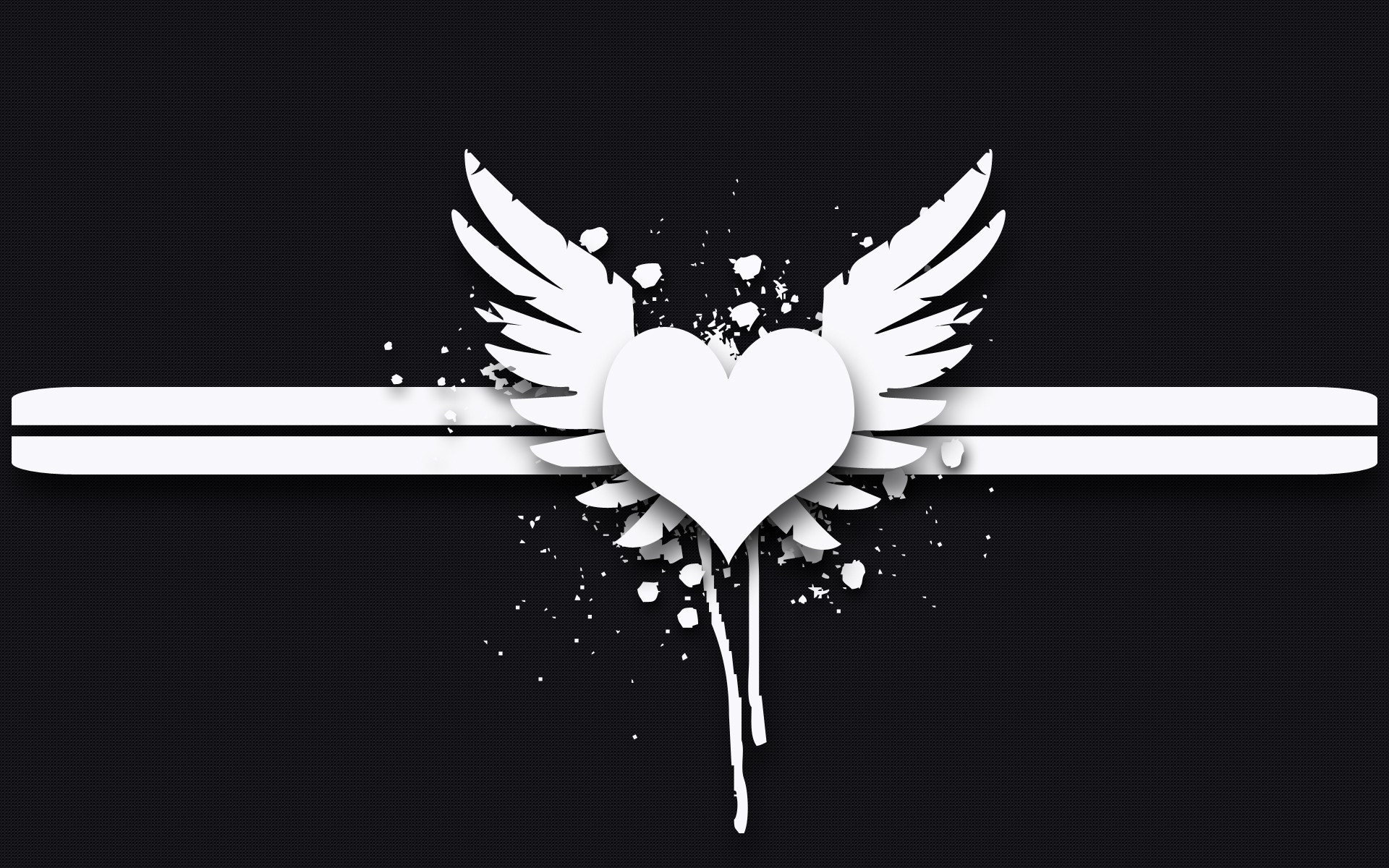 1920x1200 Angel Wings Wallpaper - WallpaperSafari Background Black White ...