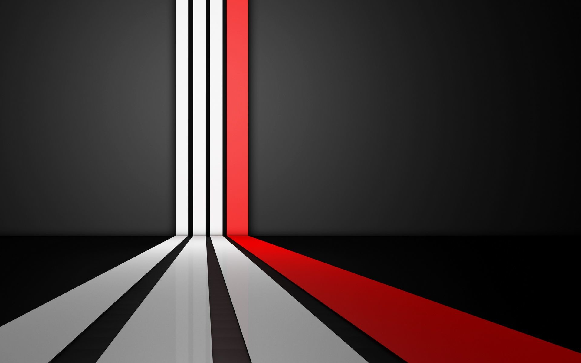 1920x1200 Abstract Art Black And White Red Wallpaper 1080p HD