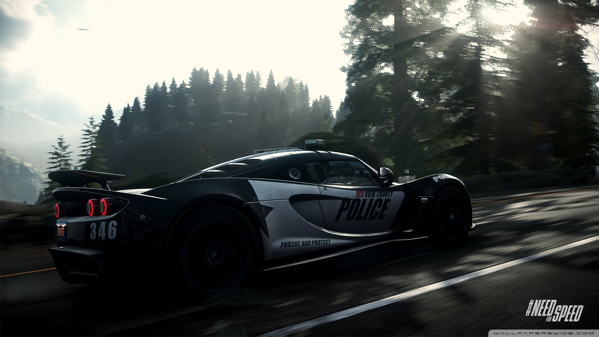 1920x1080 Need for Speed Rivals Police Car HD desktop wallpaper : Widescreen