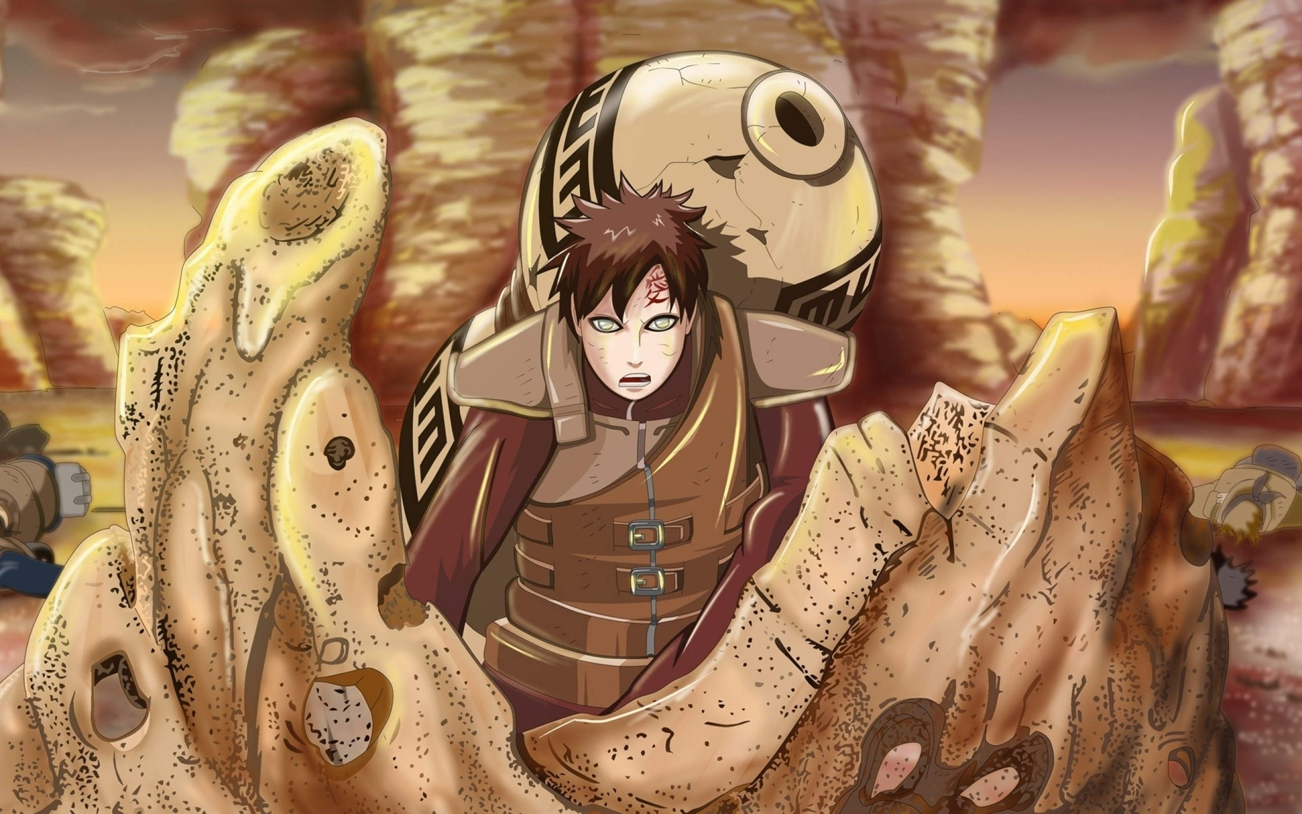 2560x1600 Download Wallpapers, Download  sand rocks naruto .