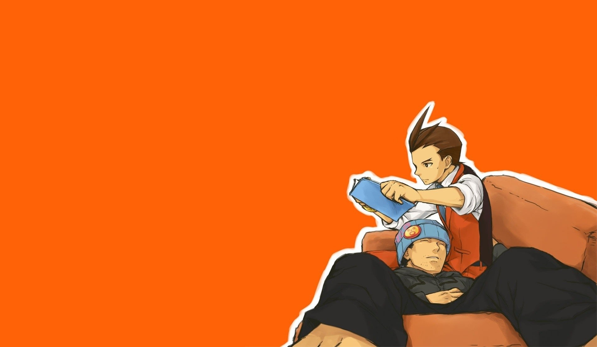 1920x1115 Video Game - Phoenix Wright: Ace Attorney Wallpaper