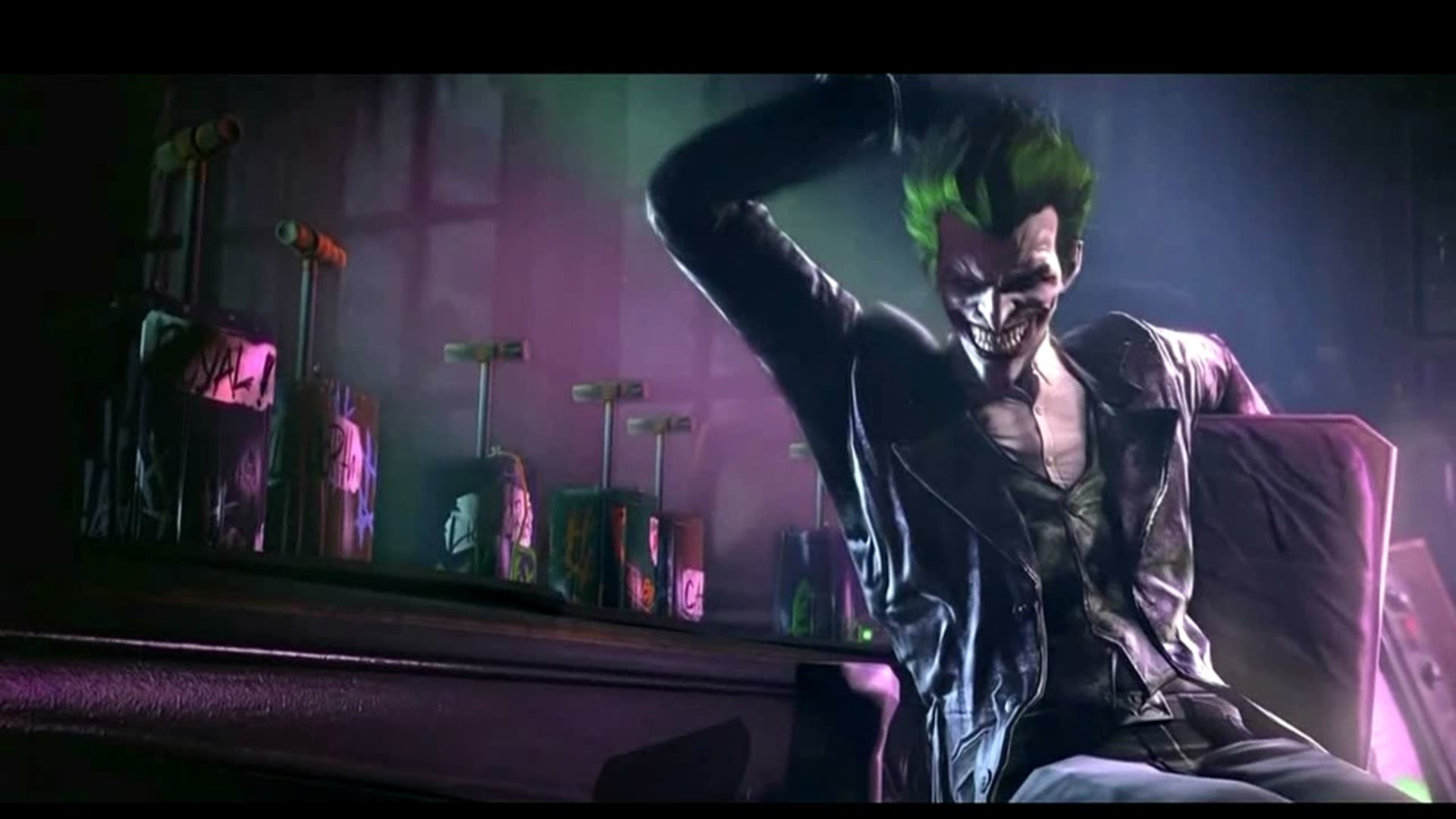 1920x1080 Batman Arkham Origins E3 2013 Trailer (Featuring THE JOKER) Sony Press  Conference - YouTube