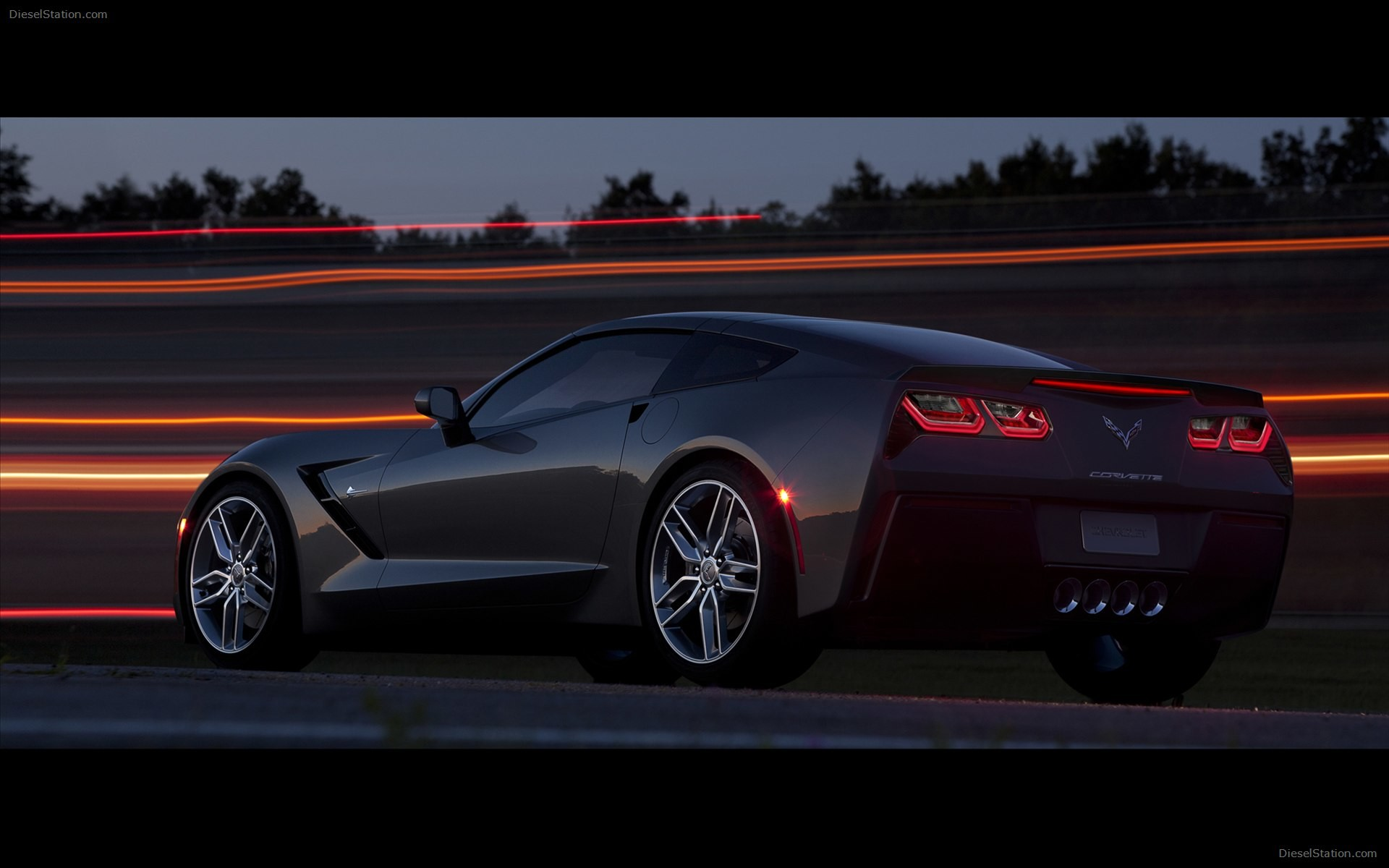 1920x1200 Chevrolet Corvette C7 Stingray 2014