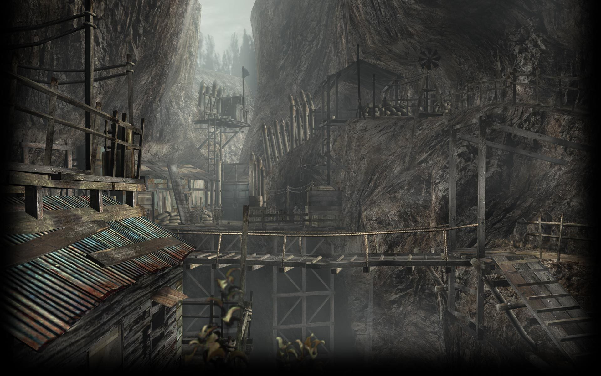 1920x1200 Image - Resident Evil 4 Biohazard 4 Background RE4 Cliffside.jpg | Steam  Trading Cards Wiki | FANDOM powered by Wikia