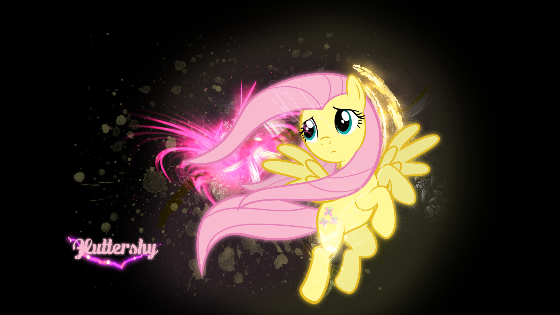 1920x1080 Fluttershy - My Little Pony HD Wallpaper