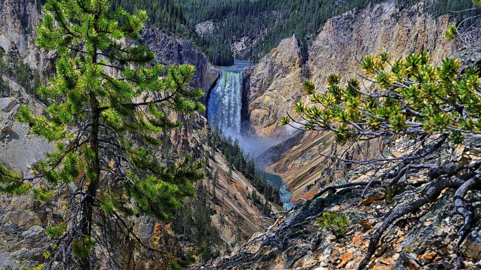 1920x1080 widescreen wallpaper yellowstone national park, 1169 kB - Coburn Jacobson