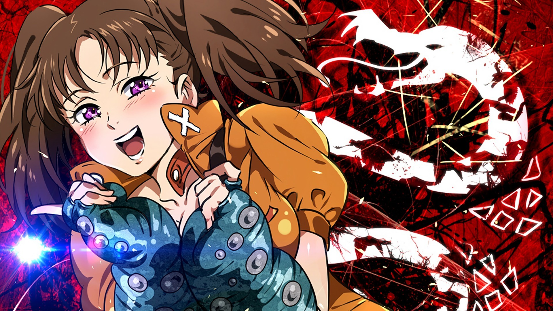 1920x1080 This wallpaper has tags of Diane, Nanatsu No Taizai the Seven Deadly Sins,  Anime, Girls,