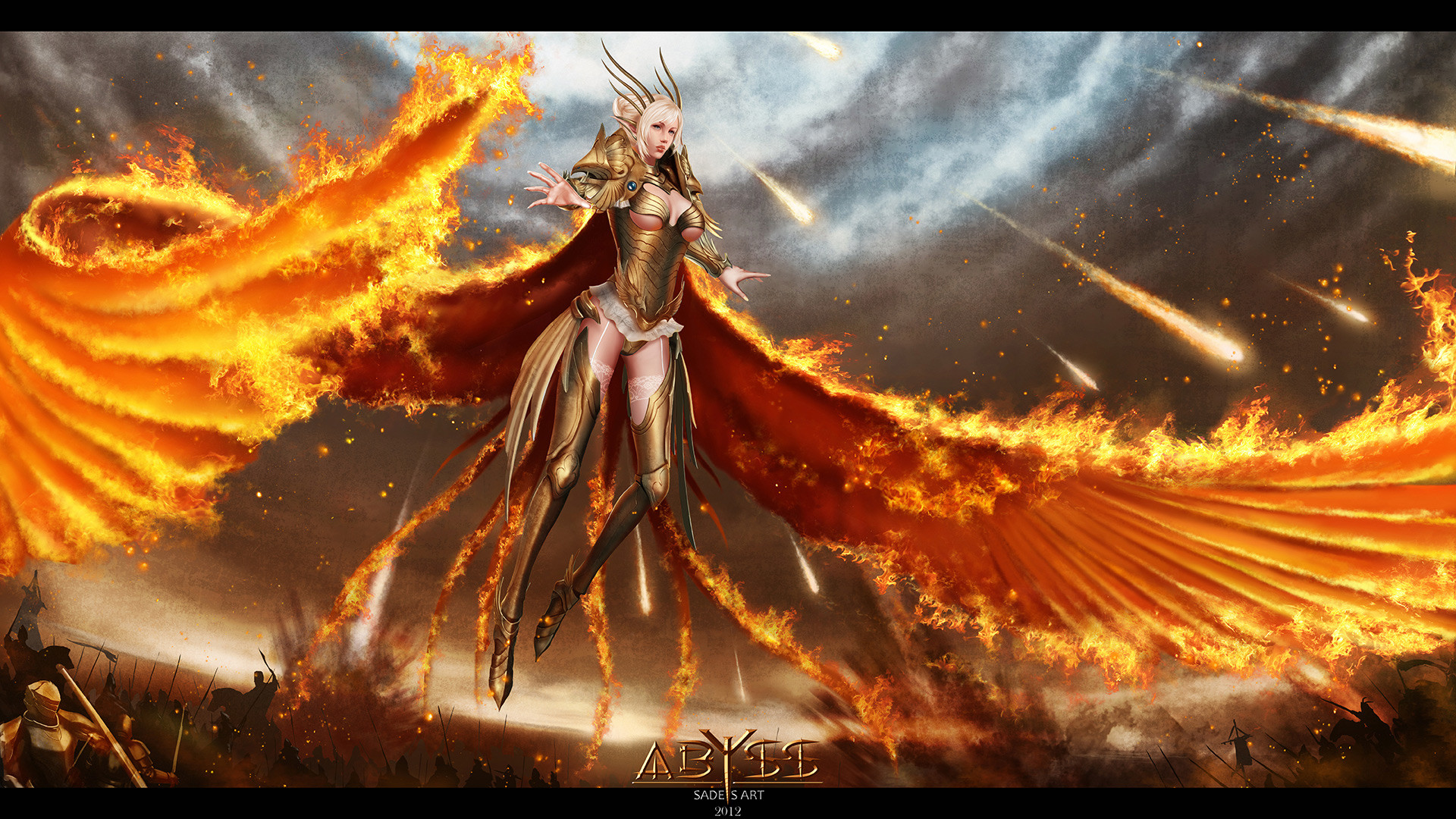 1920x1080 Find this Pin and more on Wallpapers by desidora. Afbeeldingsresultaat voor  elf on fire with wings