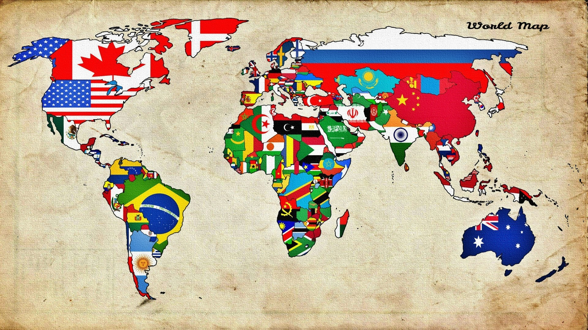 World flags wallpaper 61 images 1920x1080 map world countries flag wallpapers hd desktop and mobile backgrounds gumiabroncs Images