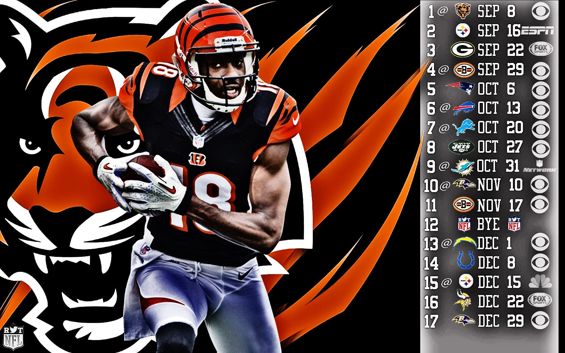 1920x1200 Football wallpaper bengals cincinnati wallpapers.