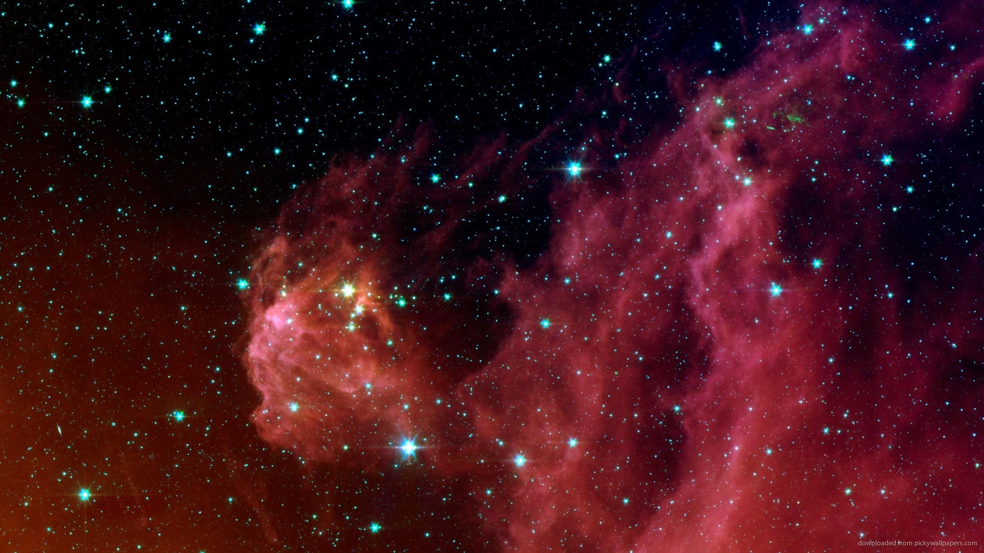 1920x1080 NASA Spitzer Space Telescope's Photo for