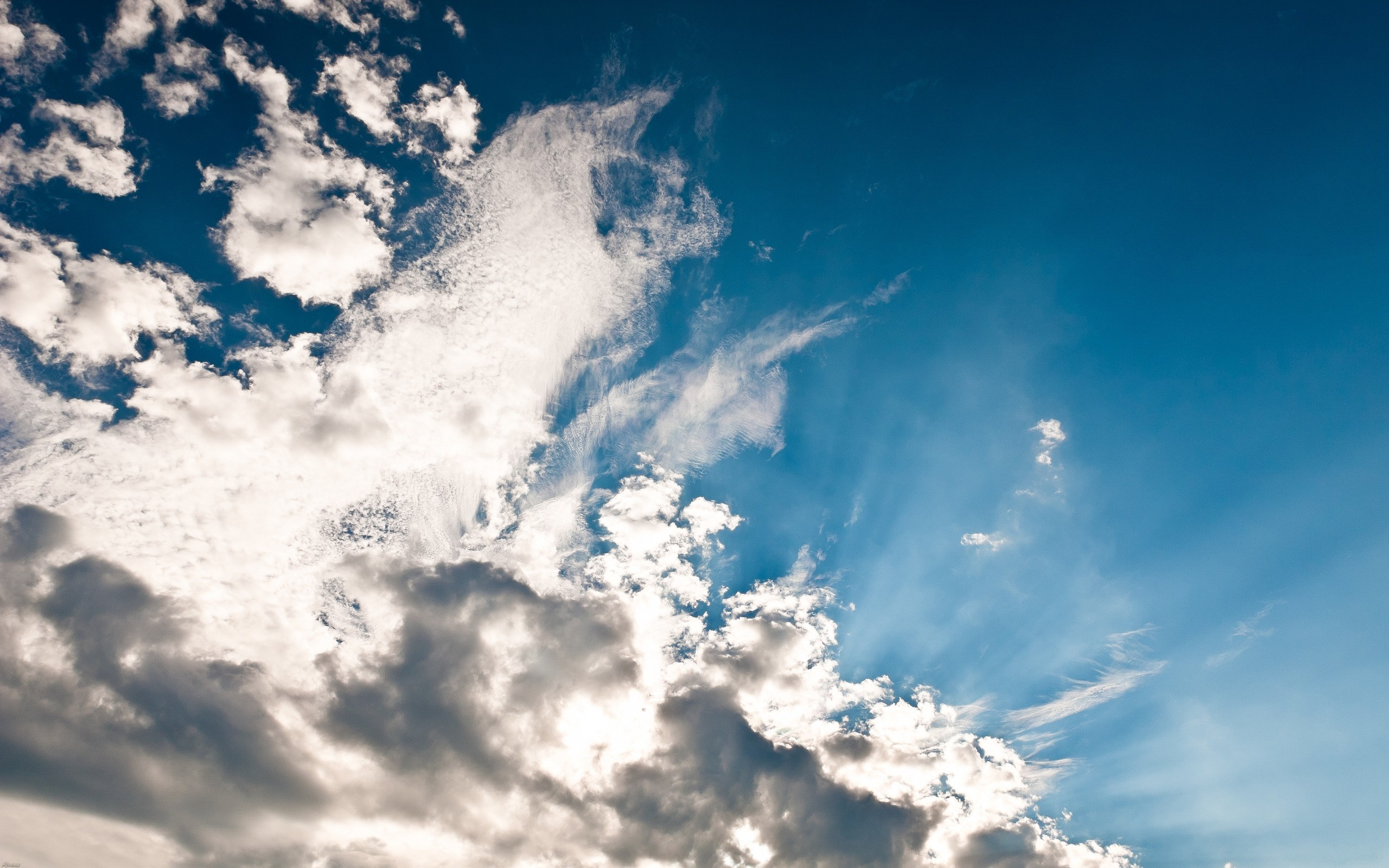 2560x1600 Photo beautiful sky with clouds high resolution ( pixels)