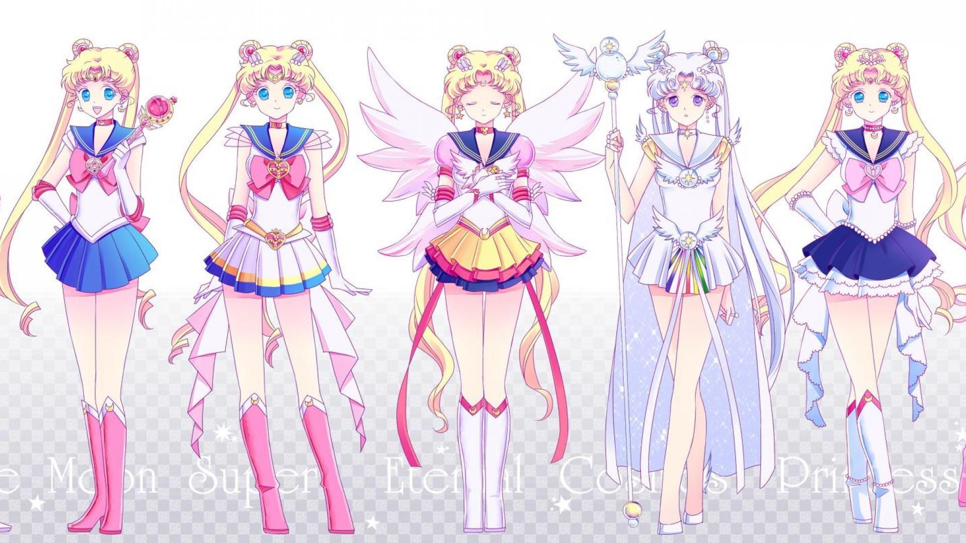 Sailor Moon Desktop Wallpaper 76 Images