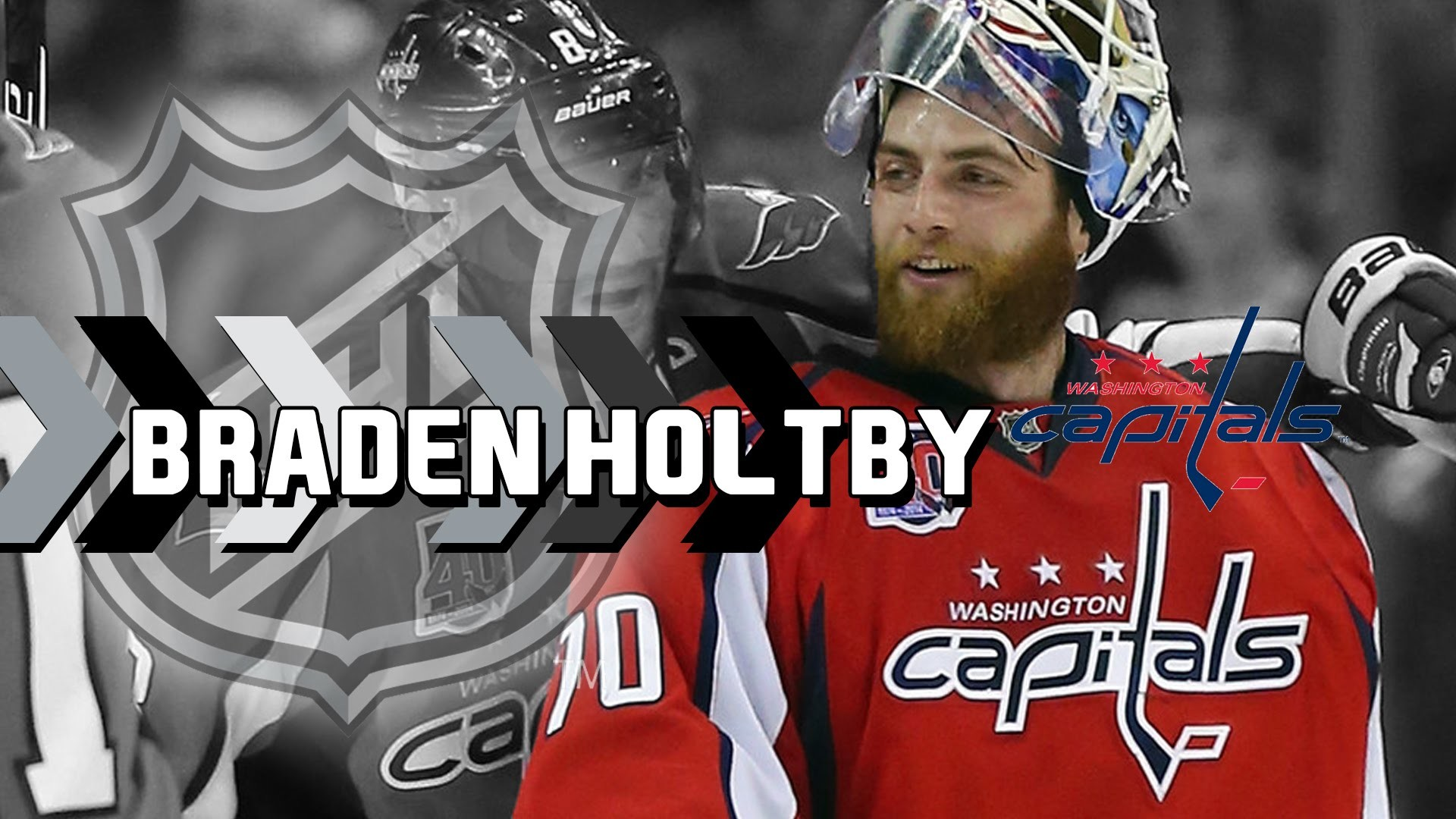 1920x1080 Capitals Sign Braden Holtby to 5-Year, $30.5 million Extension (NHL Free  Agency) - YouTube