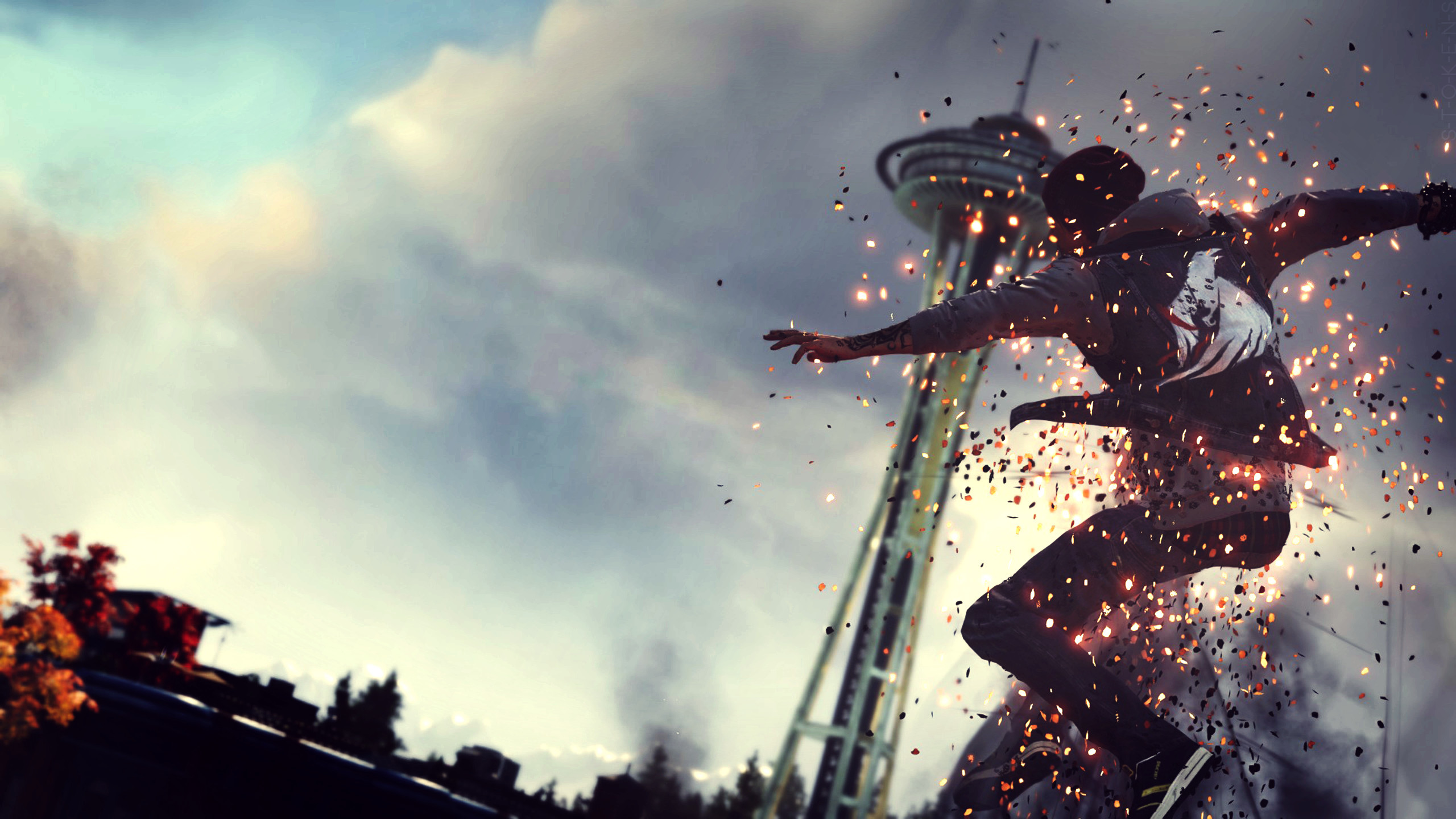 2560x1440 1920x1080 inFAMOUS: First Light HD Wallpapers 14 - 1920 X 1080