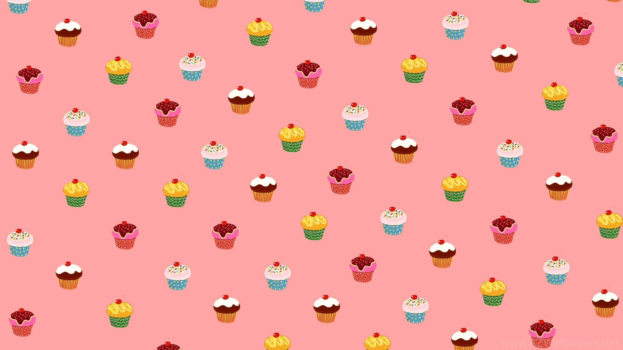 2048x1152 Cute Cupcake Backgrounds ...