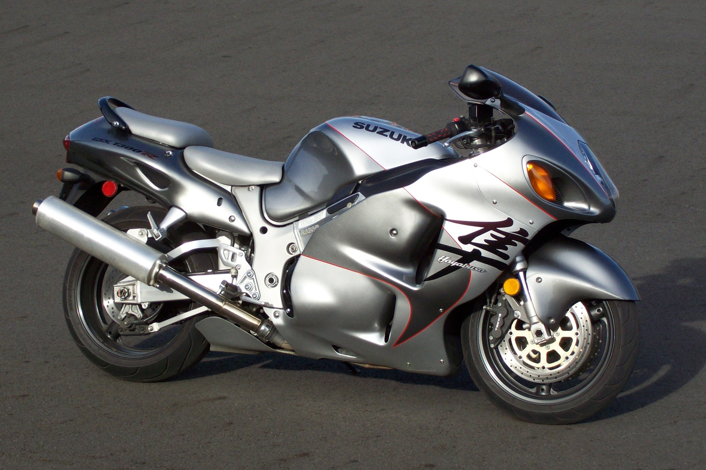 Moto Suzuki Hayabusa Side Anime Aerography Abstract Bike  .
