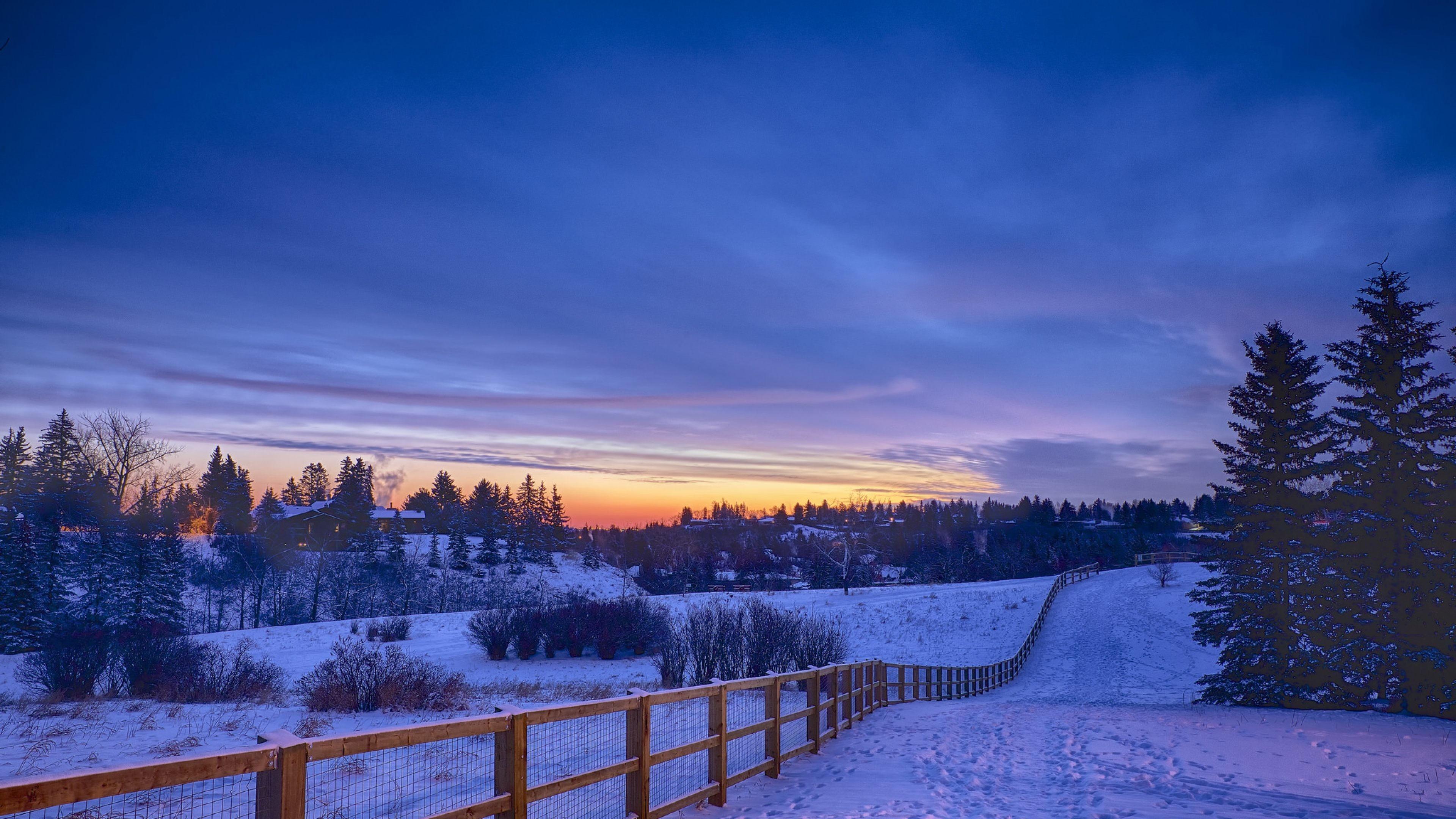 4K Winter Wallpaper (28+ images)