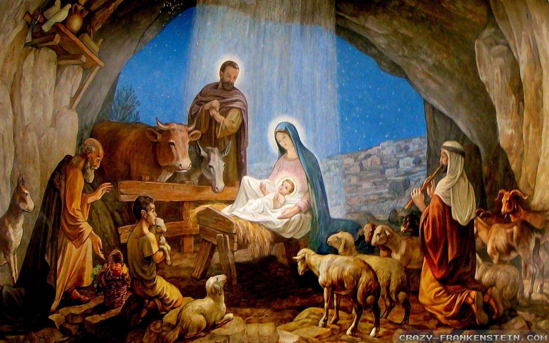 1920x1200 Merry Christmas Jesus Wallpaper - ToObjects.