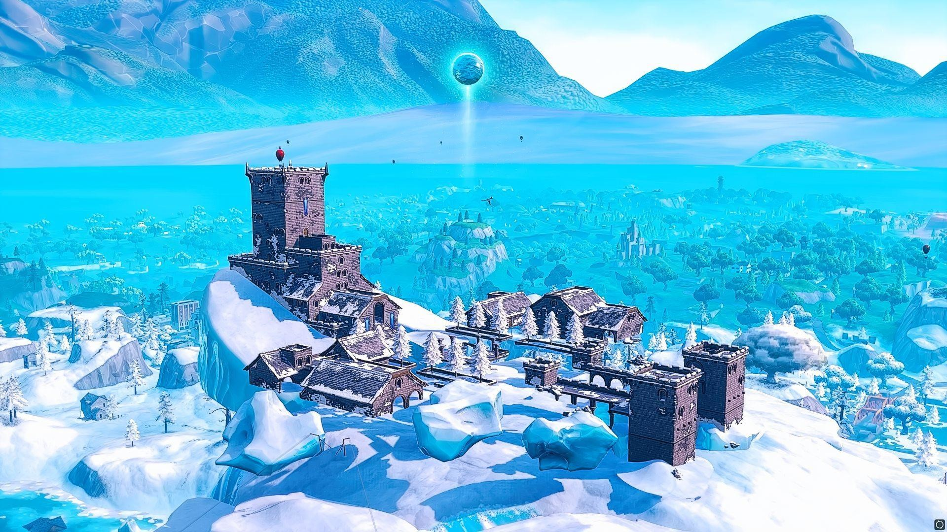 1920x1080 Fortnite Has An Ice Ball At Polar Peak. Ice Storm Event Files Found •  L2pbomb