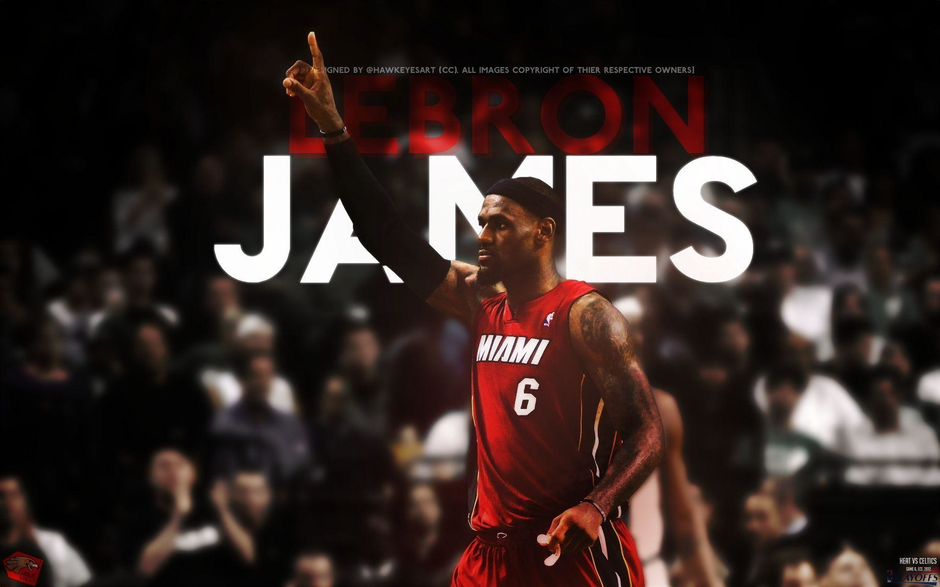 1920x1200 LeBron James Miami Heat HD Desktop Wallpaper #207 | TanukinoSippo.