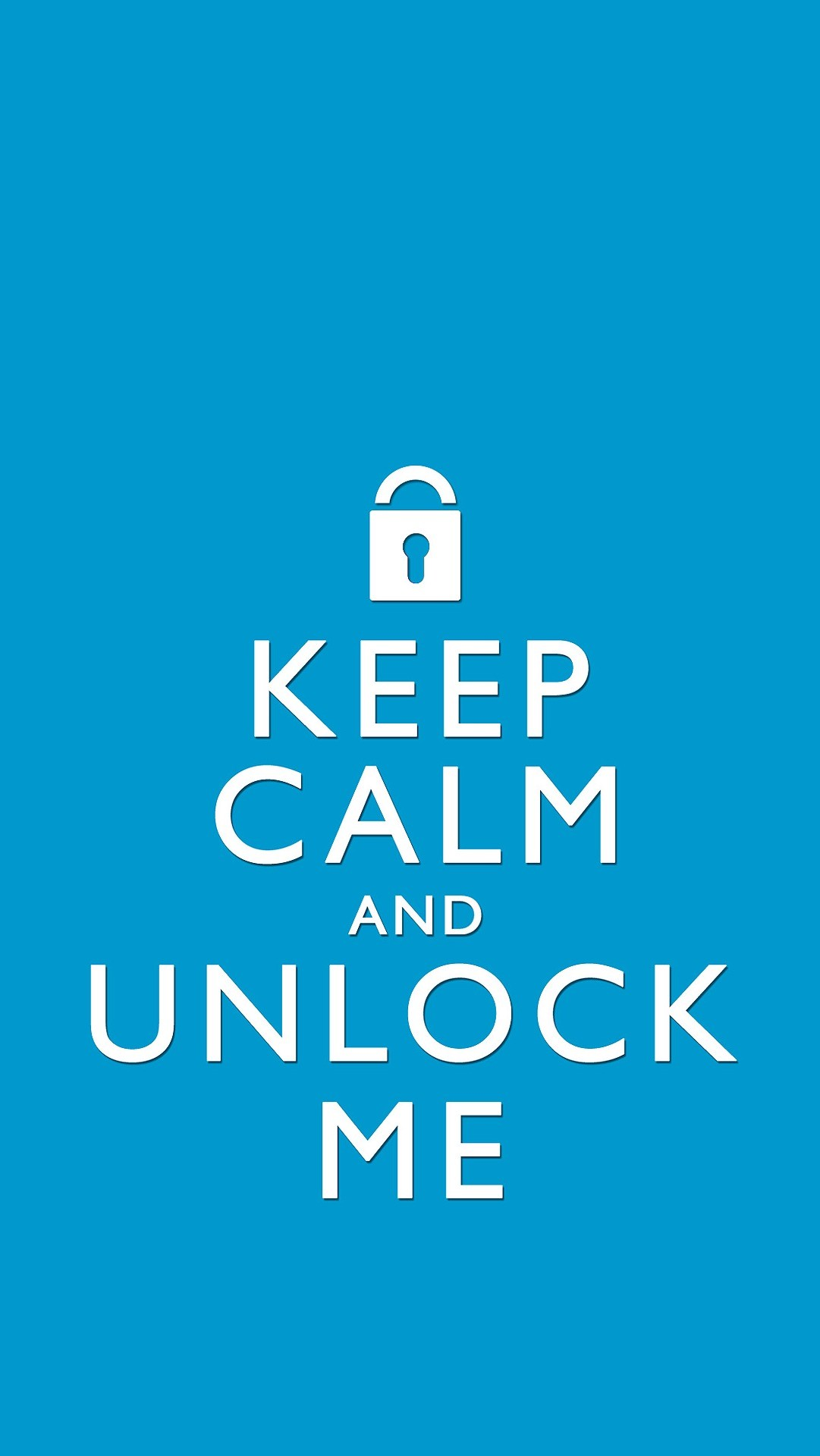 1081x1920 Lockscreens Keep Calm And Unlock Me Turquoise